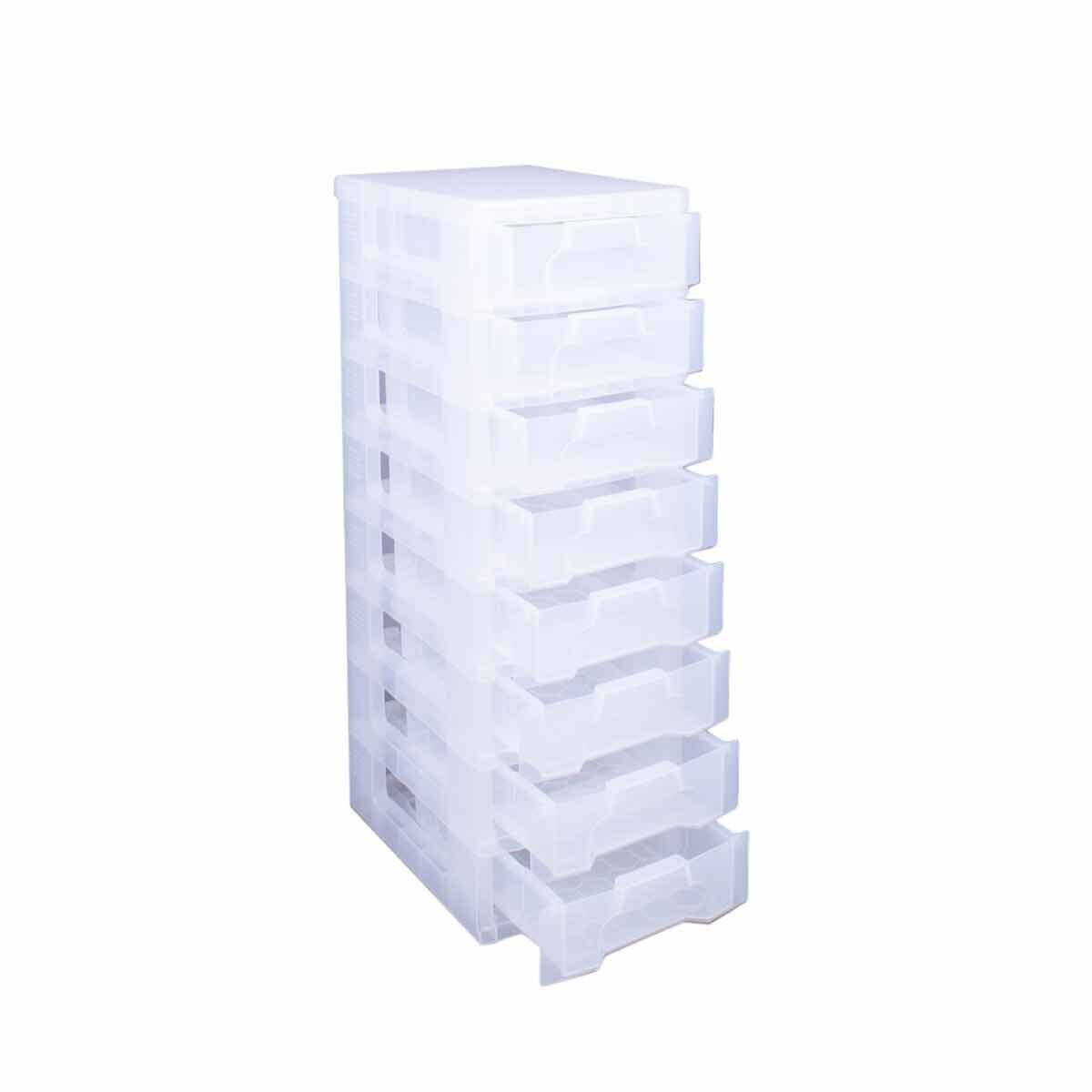 Really Useful Box 8 x 7 Litre Drawer Clear