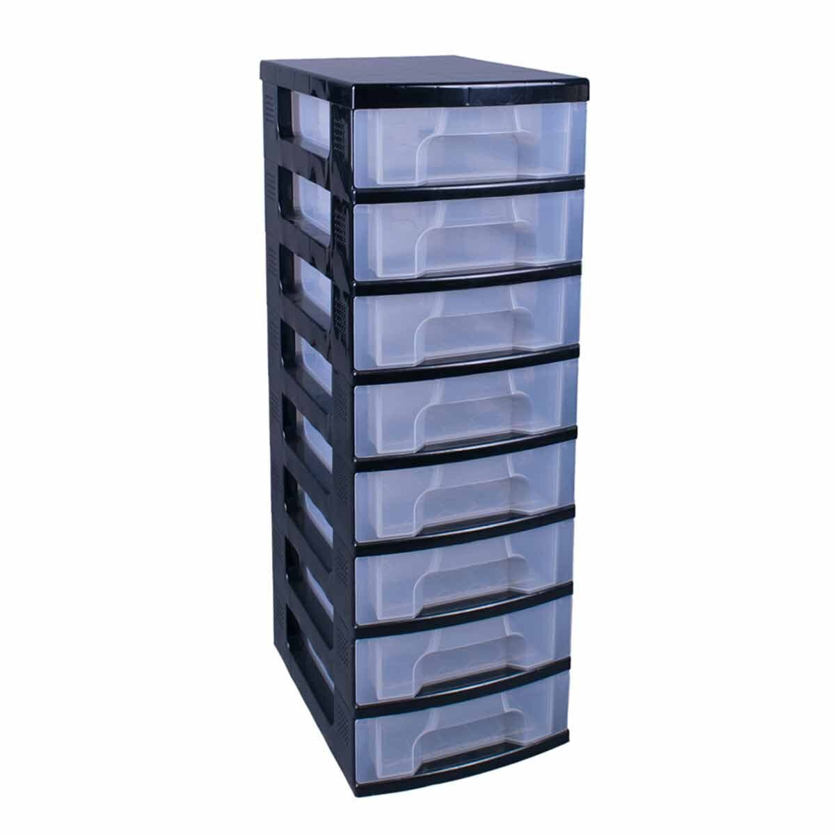 Really Useful Box 8 x 7 Litre Drawer Black