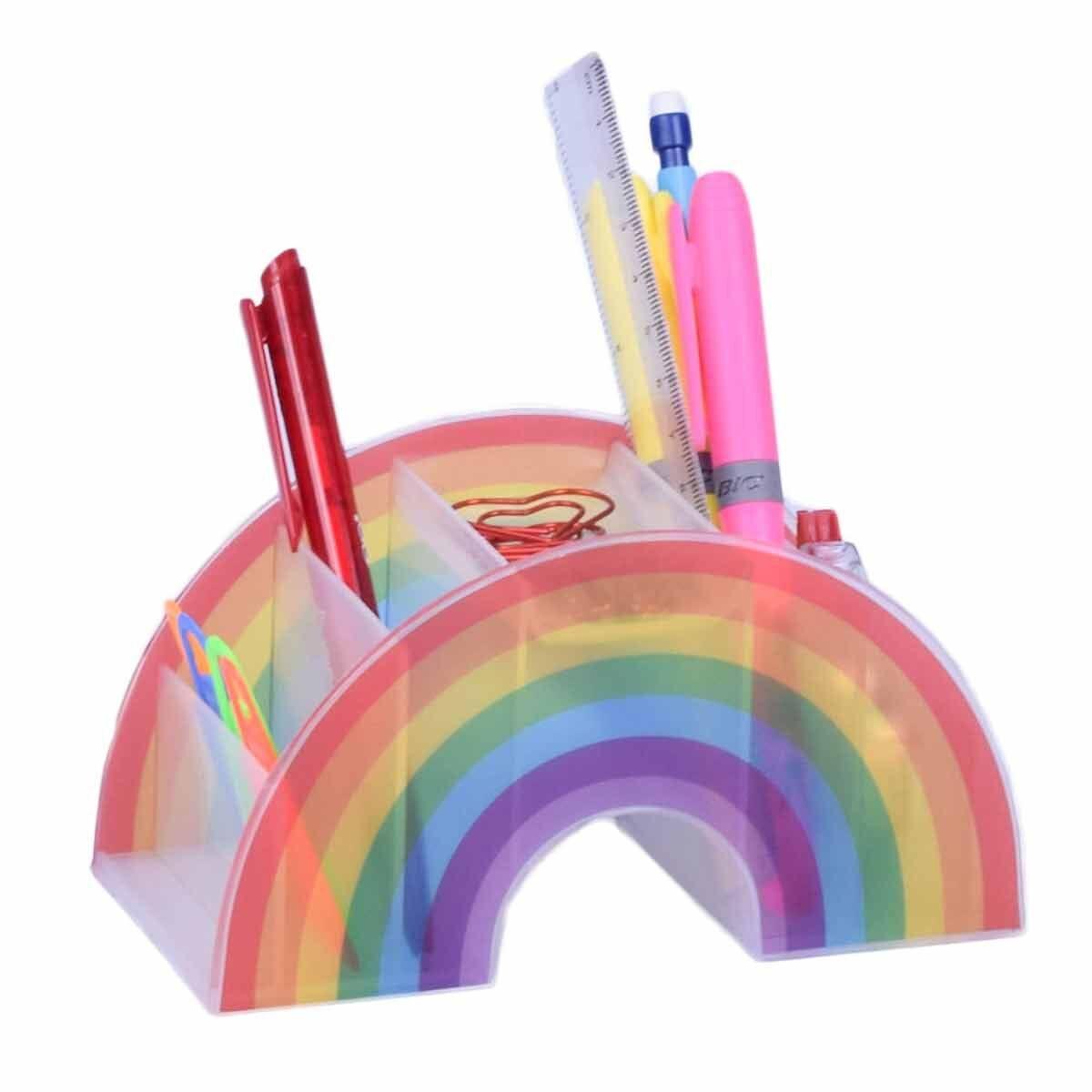 Rainbow Pen Pot