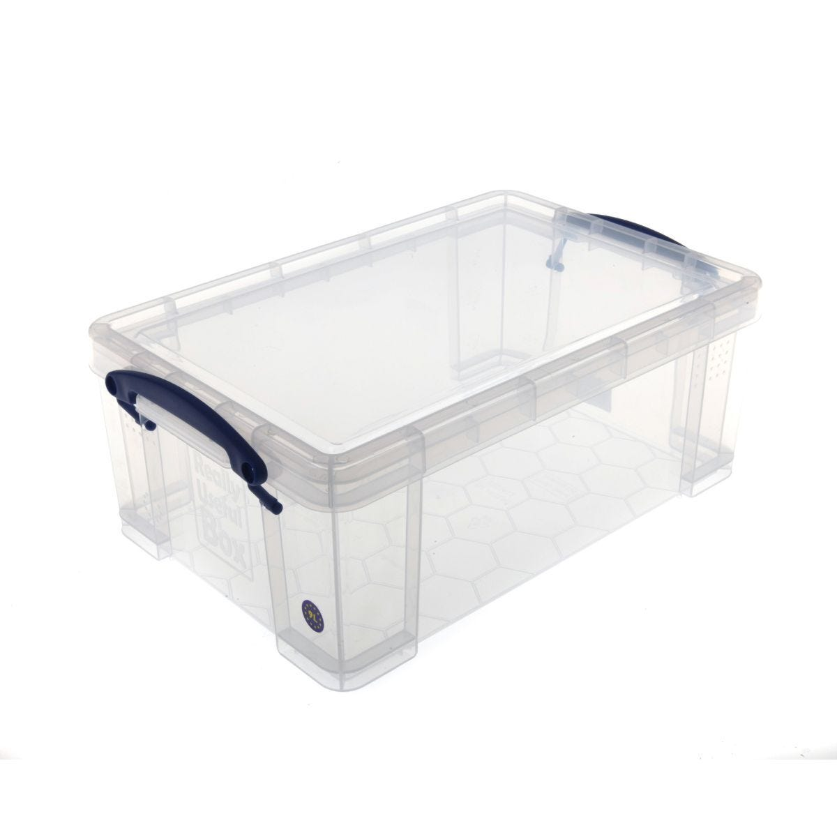 Really Useful Storage Box 9 Litre Clear