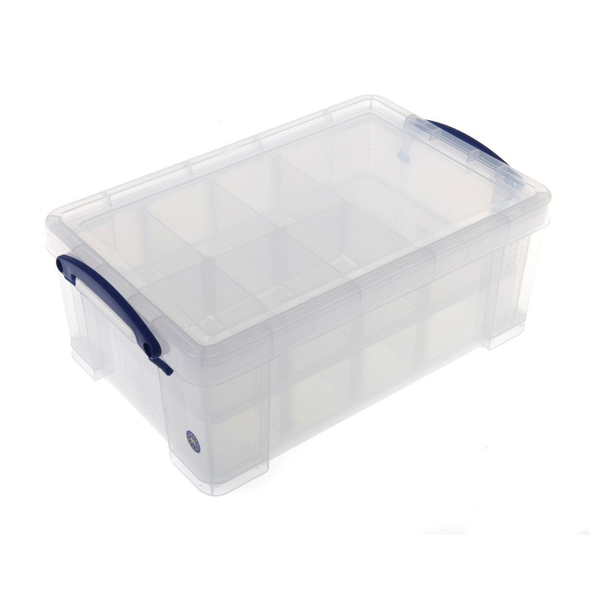Really Useful Storage Box 9 Litre with Tray Inserts