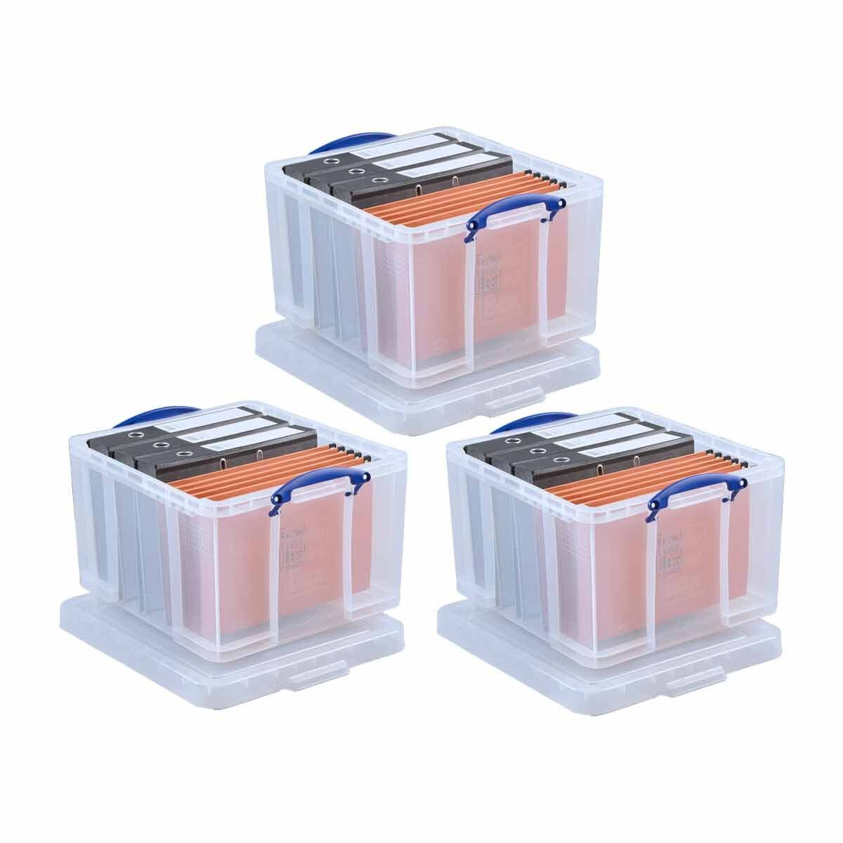 Really Useful Box 42 Litre Pack of 3