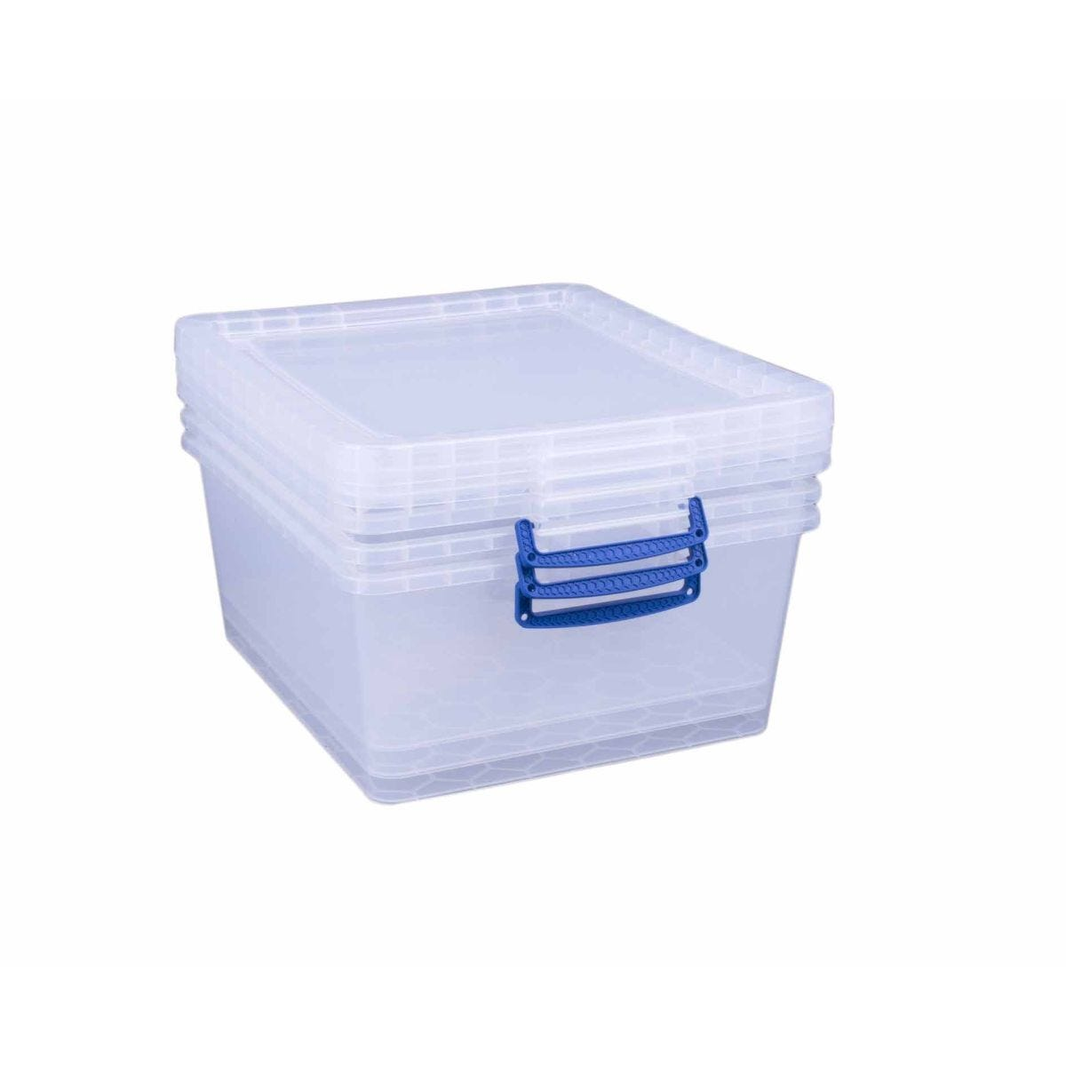 Really Useful Nestable Storage Box 17.5 Litre Pack of 3