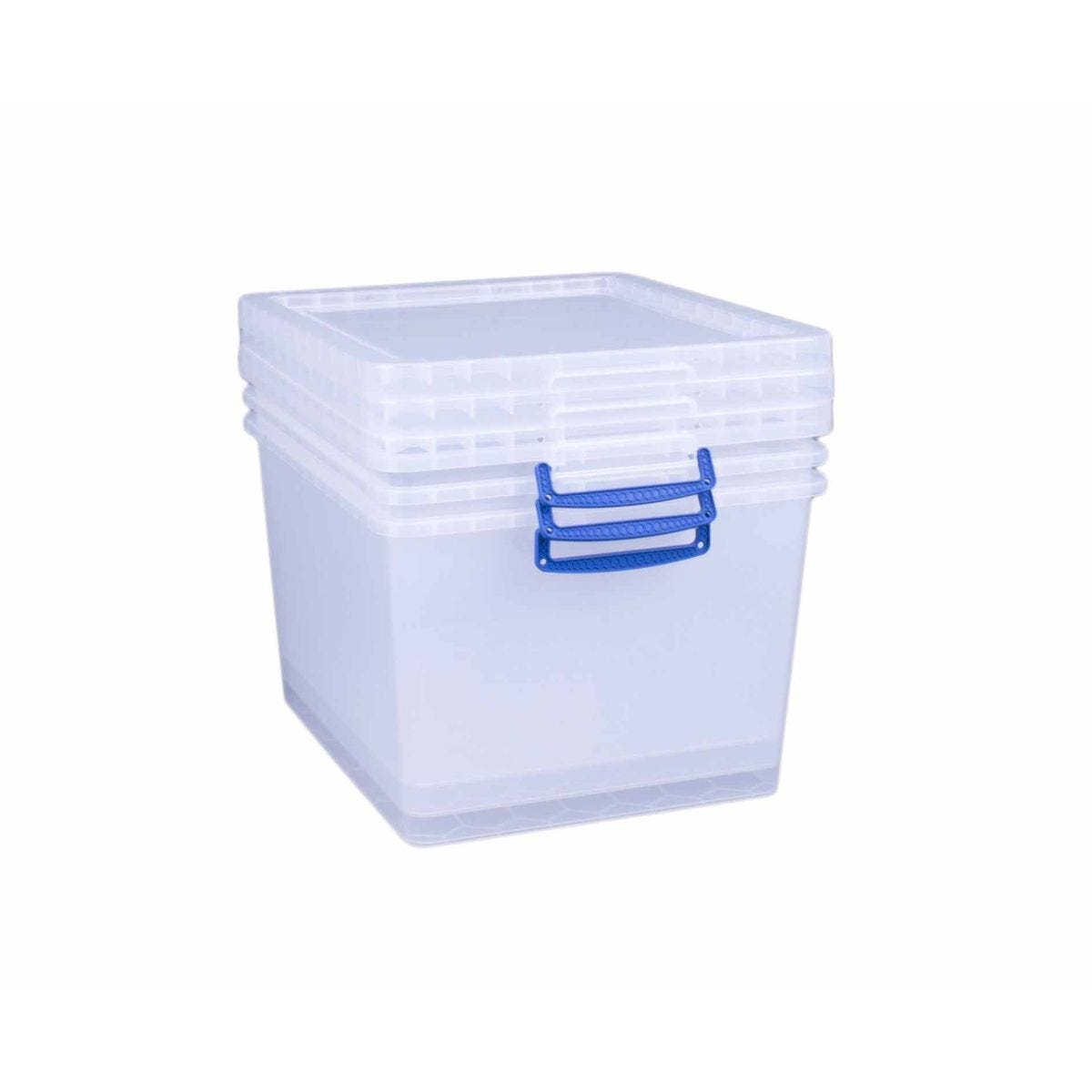 Really Useful Nestable Storage Box 33.5 Litre Pack of 3