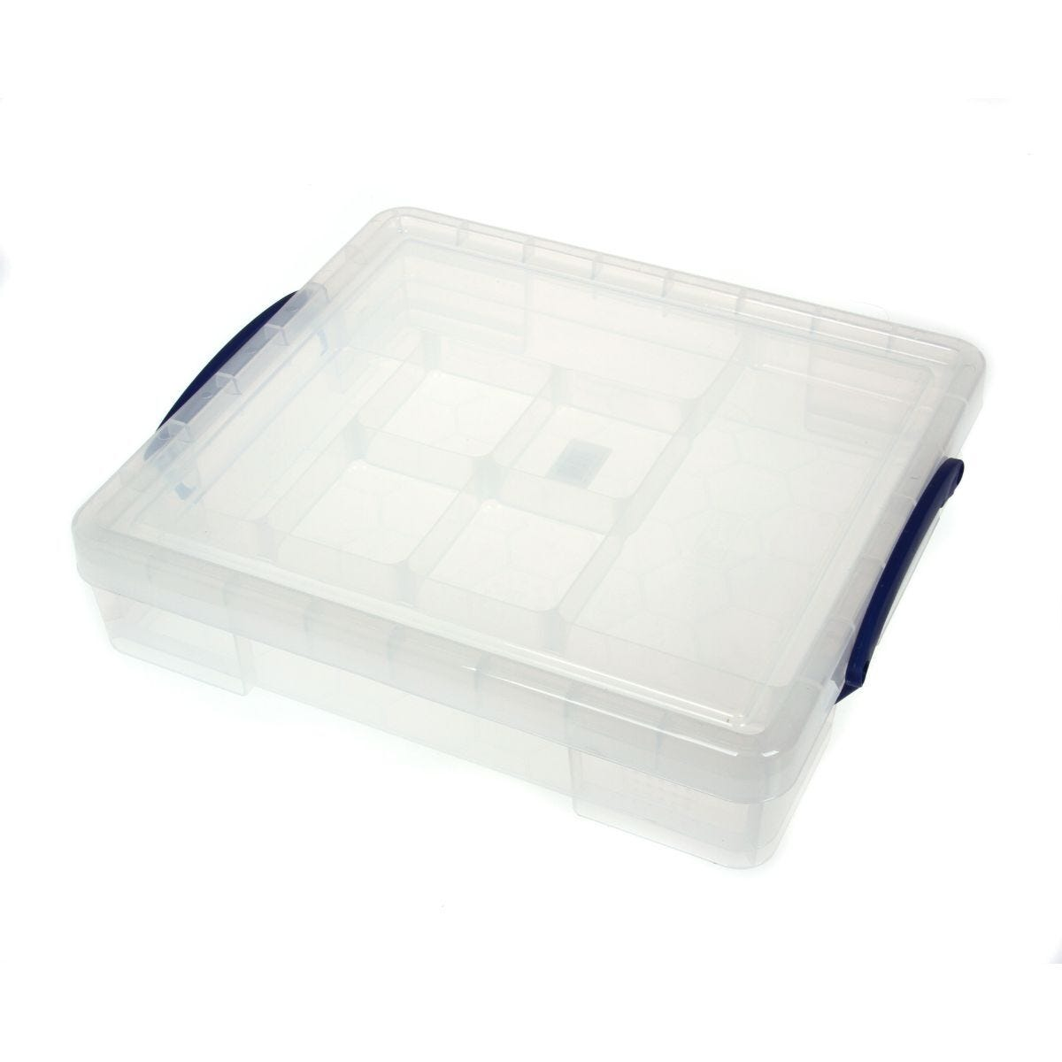 Really Useful Box 7 Litre + Tray Clear