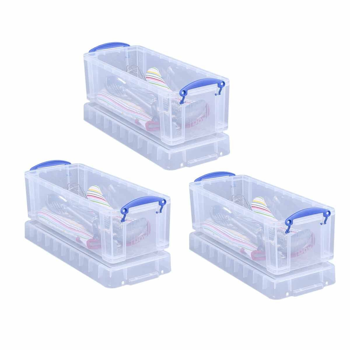 Really Useful Boxes 6.5 Litre Pack of 3