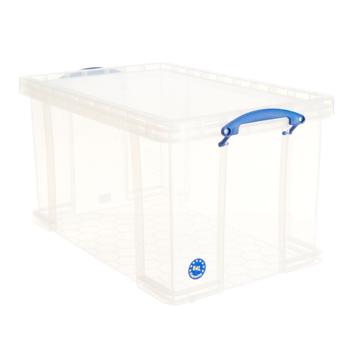 Really Useful Box 84 Litre Clear