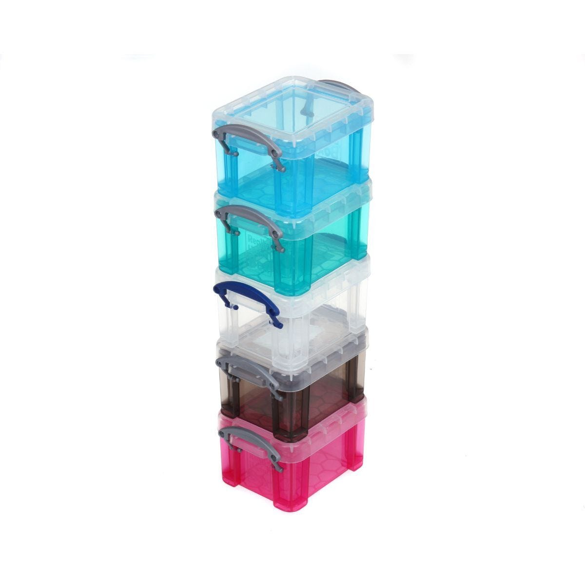 Really Useful Box 0.14 Litre Pack of 5 Assorted