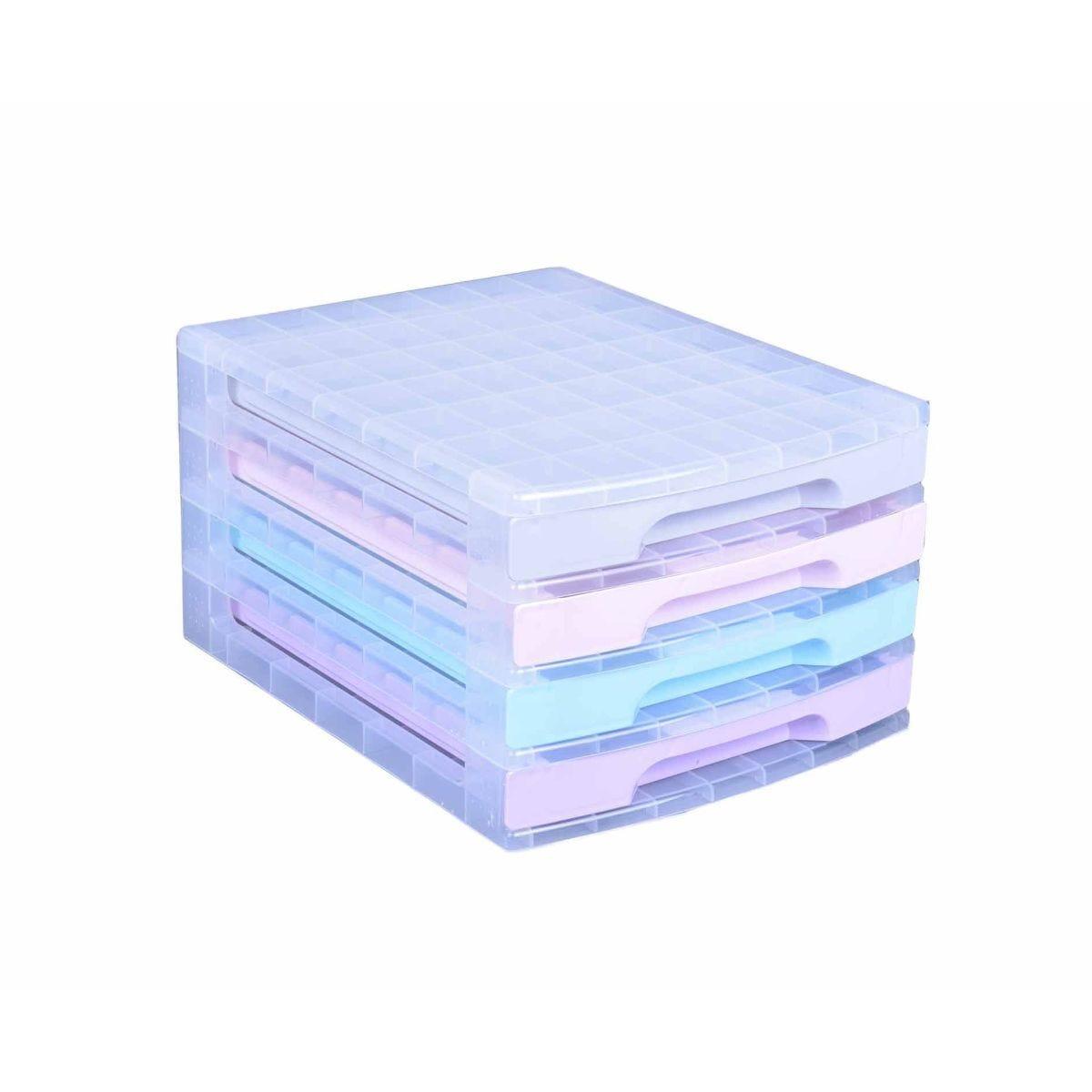 Really Useful Storage Drawer Unit Pastel 4x5 Litre