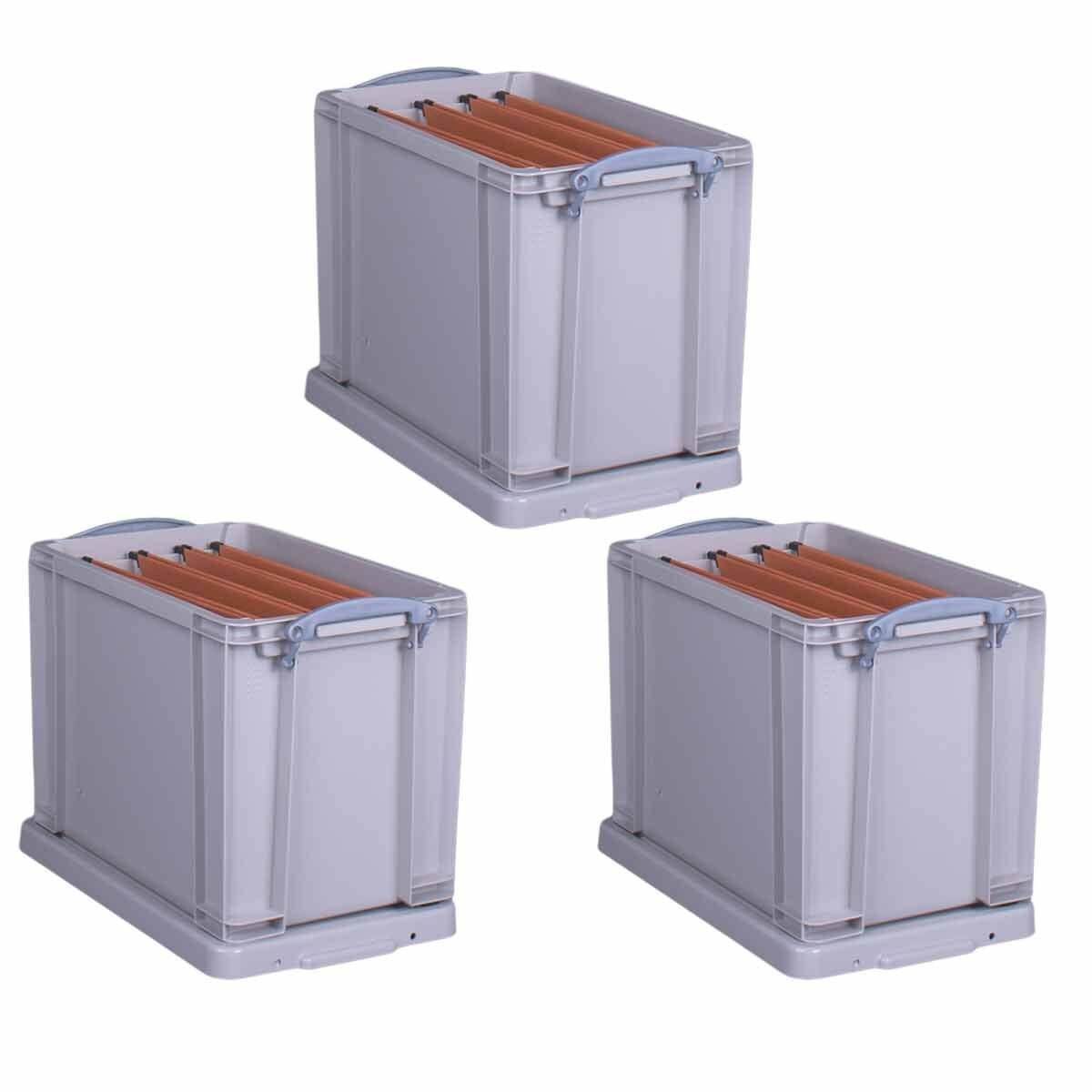 Really Useful Box Recycled 19 Litre Pack of 3
