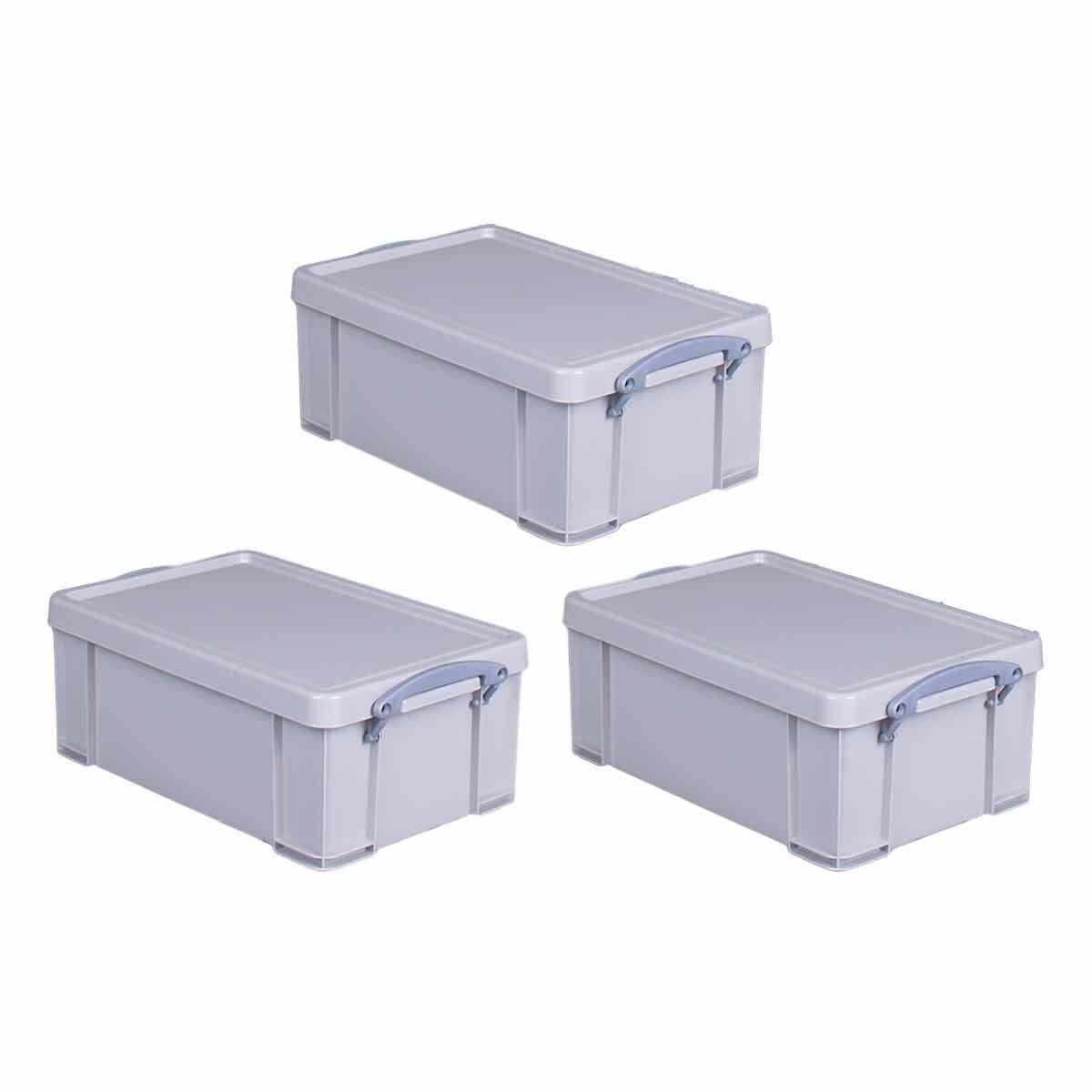 Really Useful Box Recycled 9 Litre Pack of 3