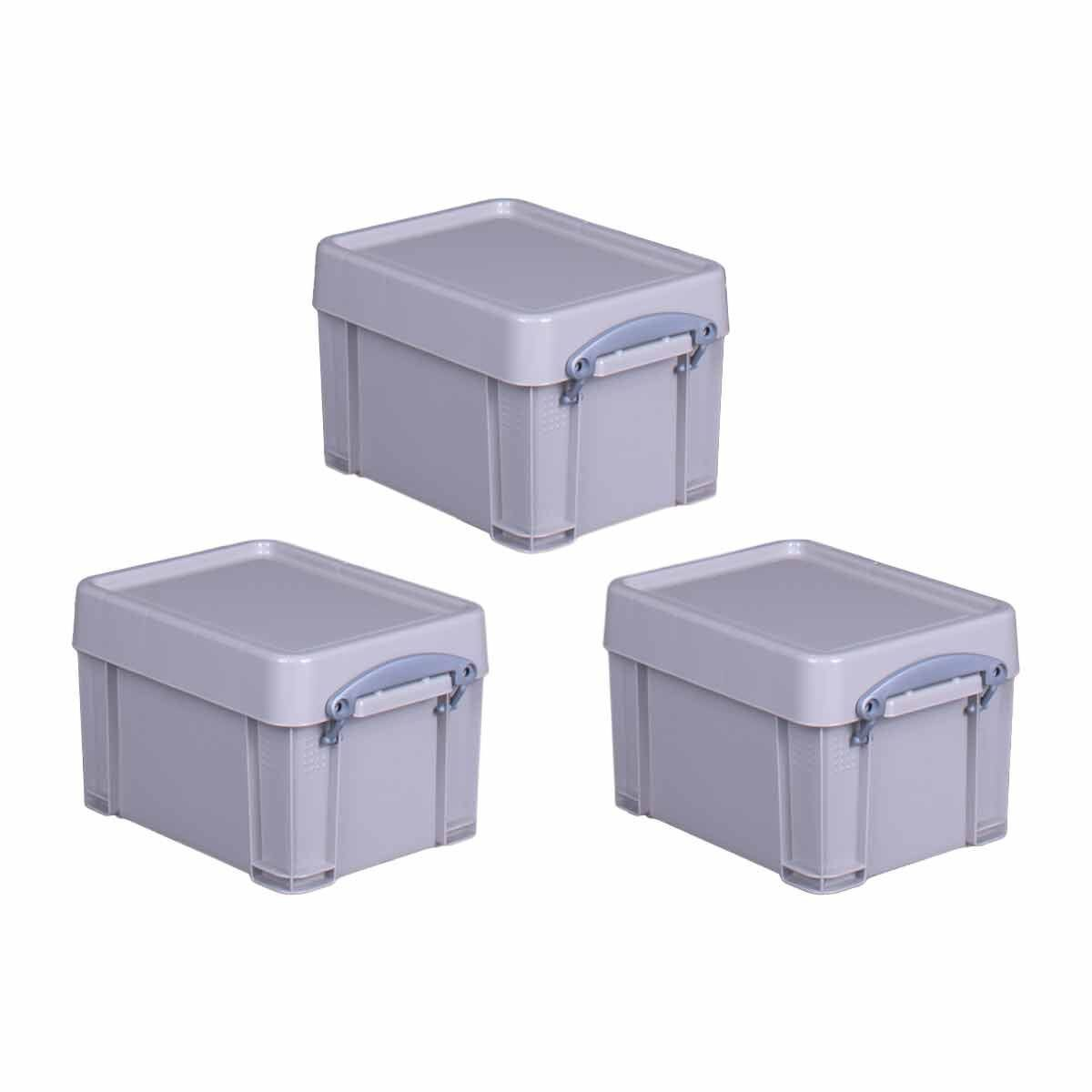 Really Useful Box Recycled 3 Litre Pack of 3