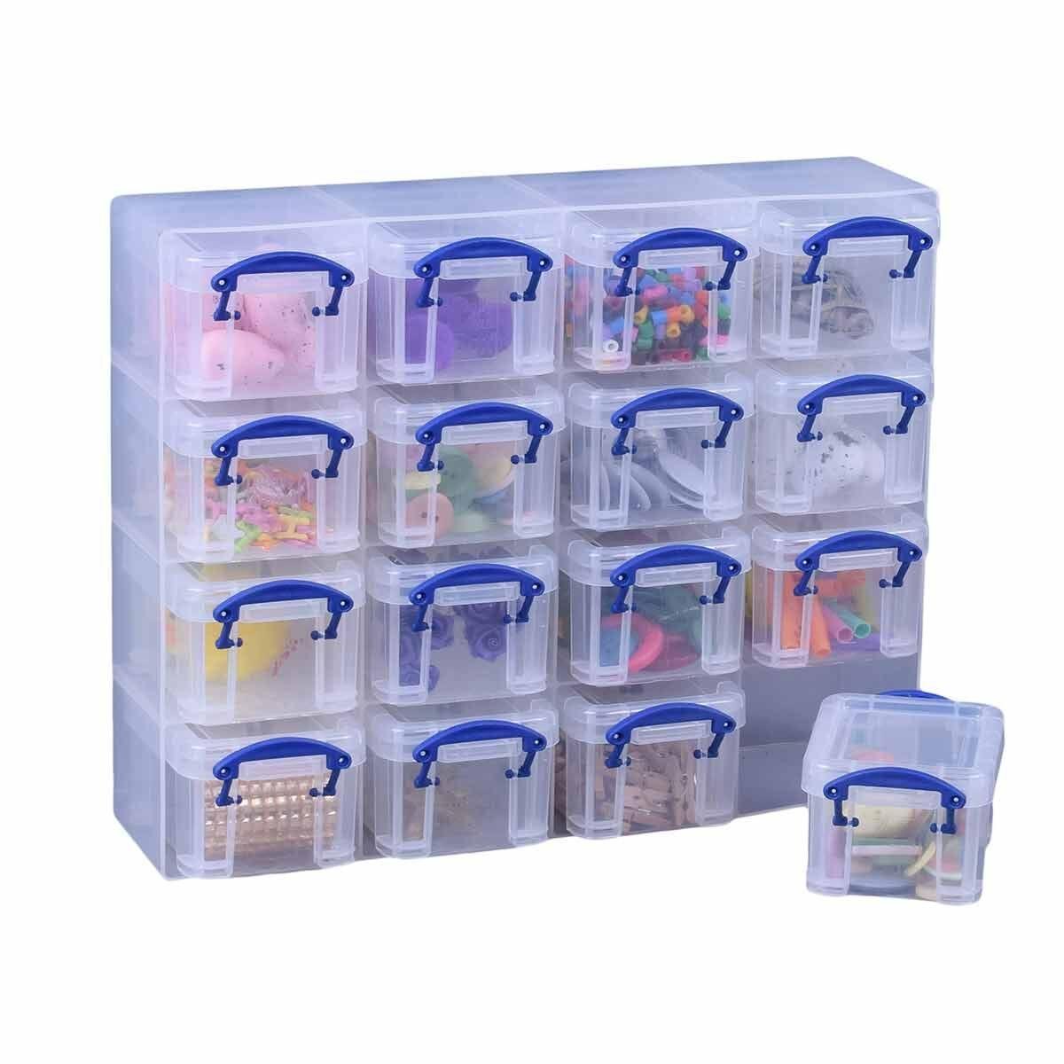 Really Useful Box Organiser 0.14L Clear