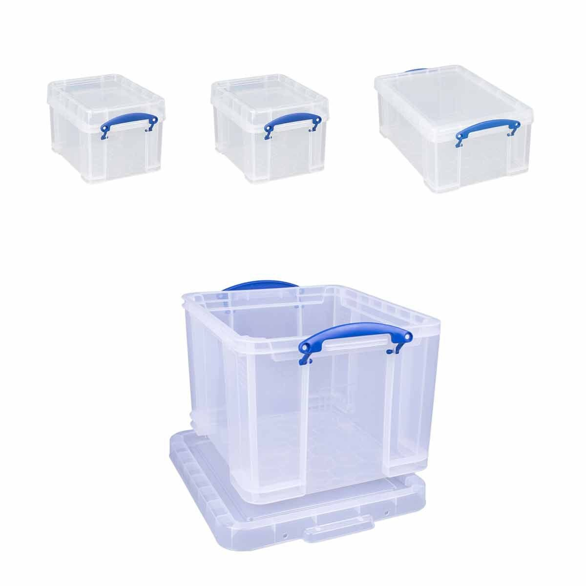 Really Useful Box 35 Litre Bonus Pack Assorted Sizes