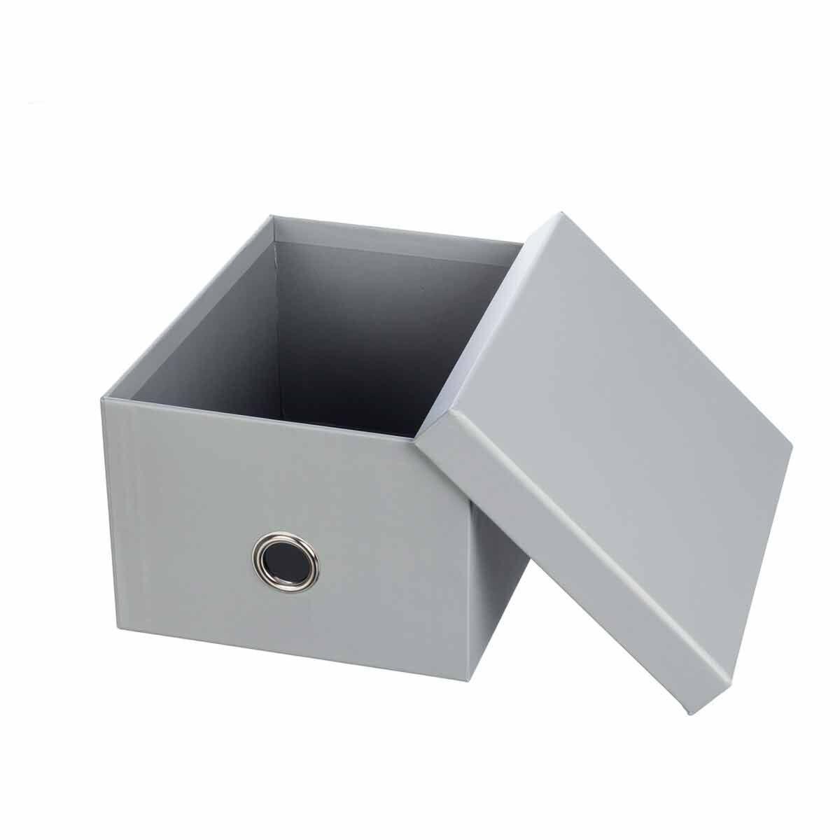 Ryman Storage Box Medium Grey