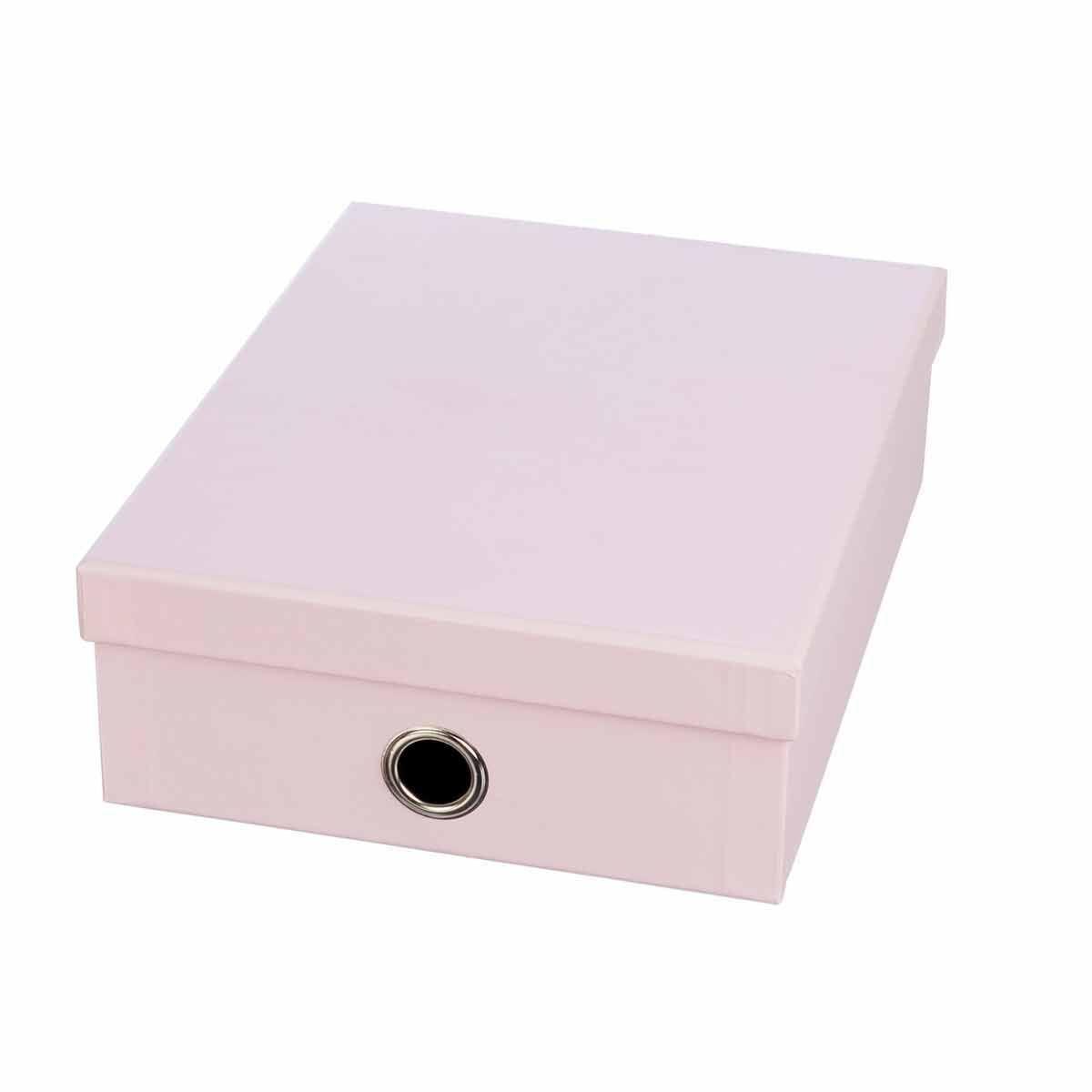 Ryman Storage Box Large Light Pink