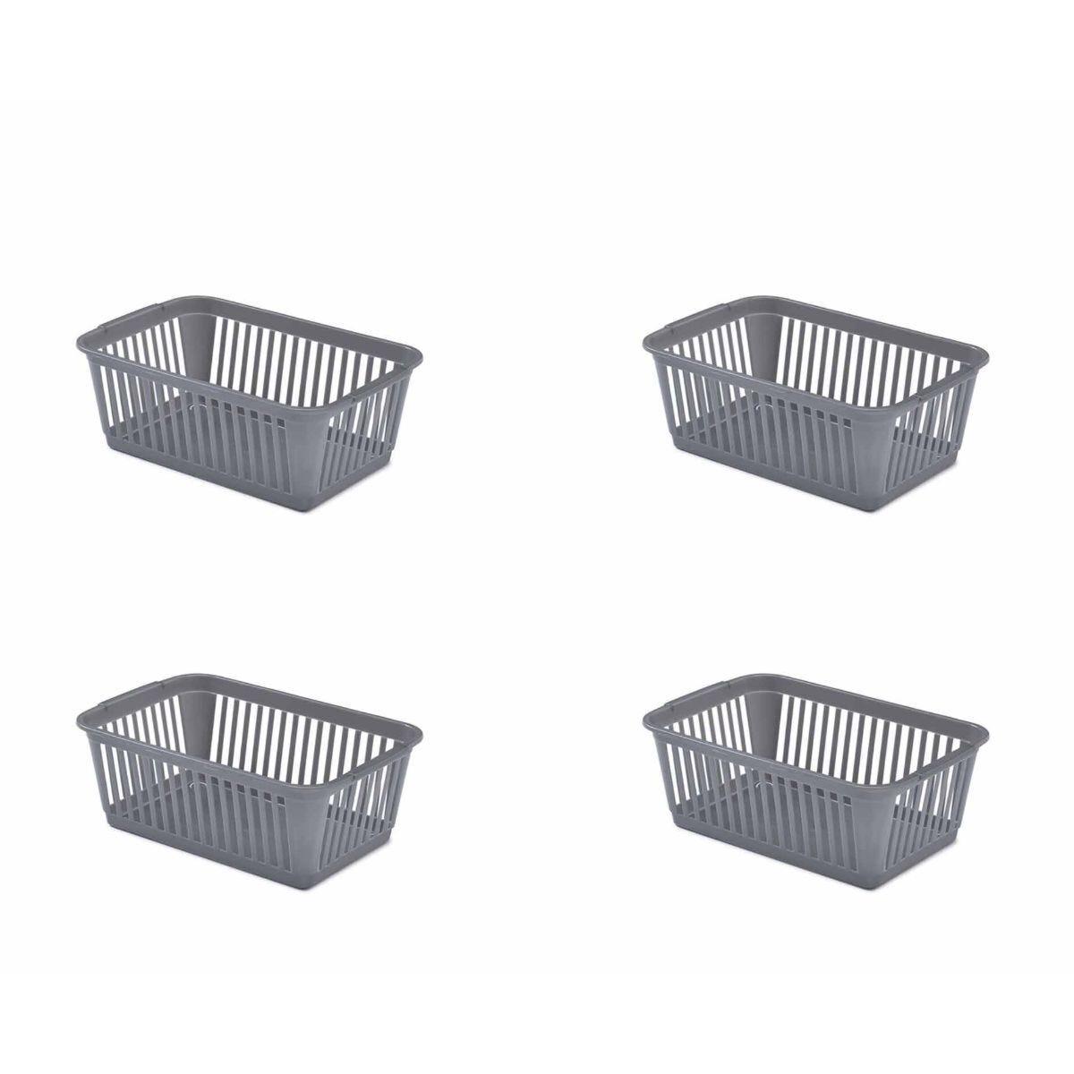 Whitefurze Handy Basket 30cm Pack of 4