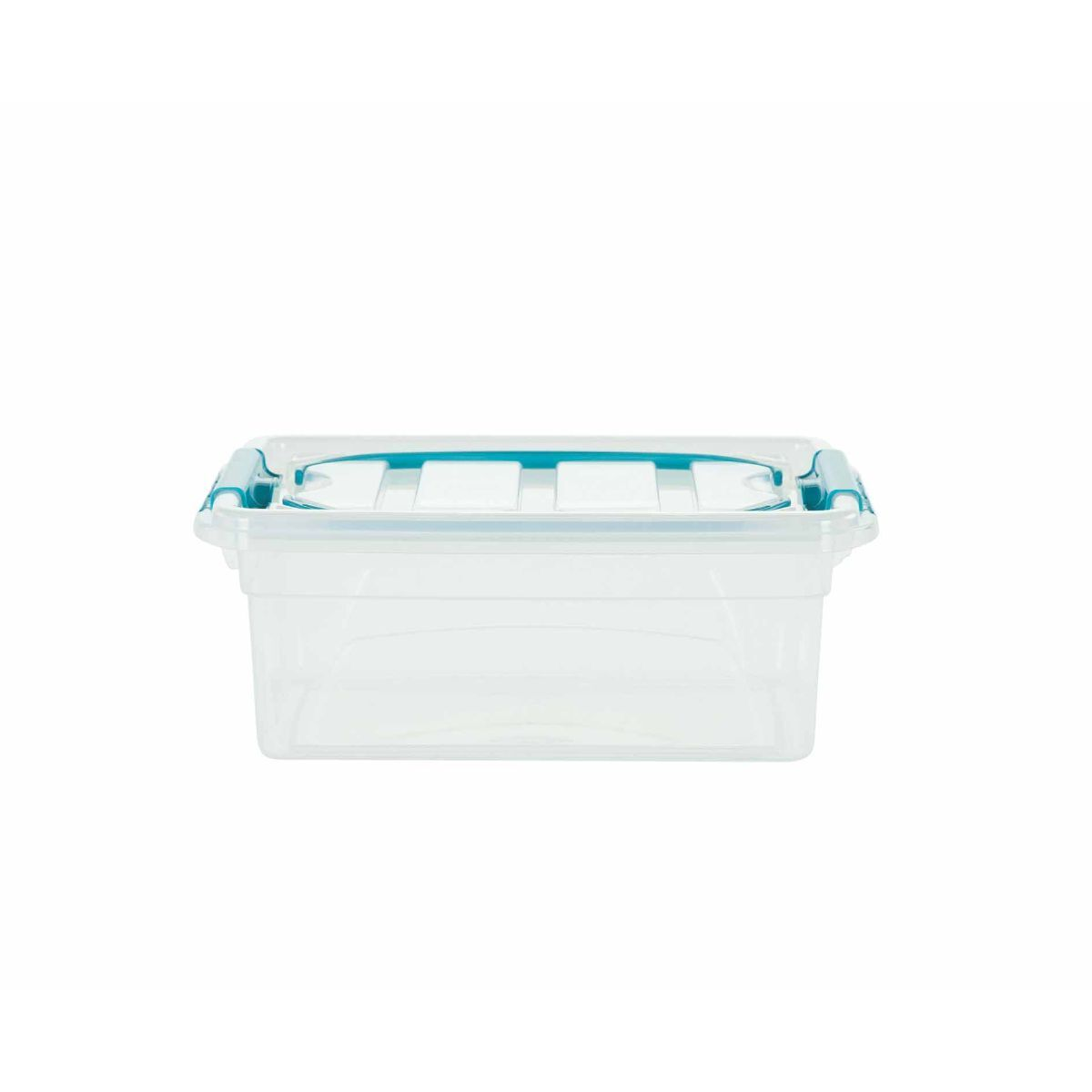 Whitefurze Carry Box with Handles 5 Litre Clear