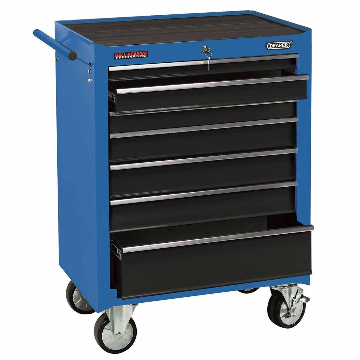 Draper 26 Inch Roller Cabinet with 7 Drawers