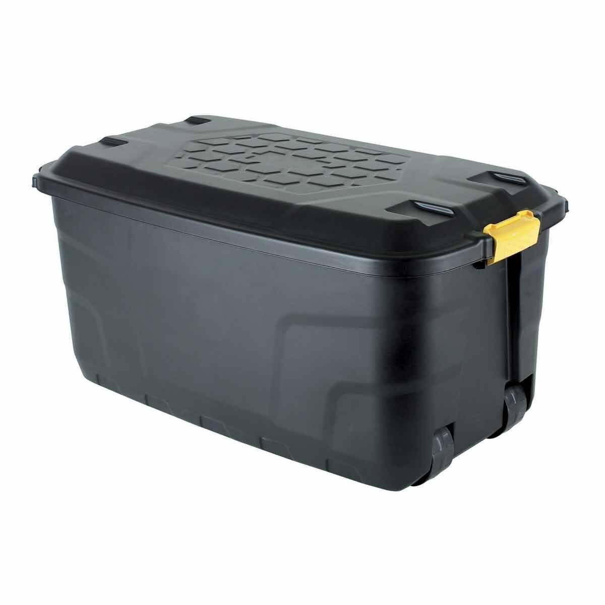 Strata Heavy Duty Storage Box with Wheels 145 Litre