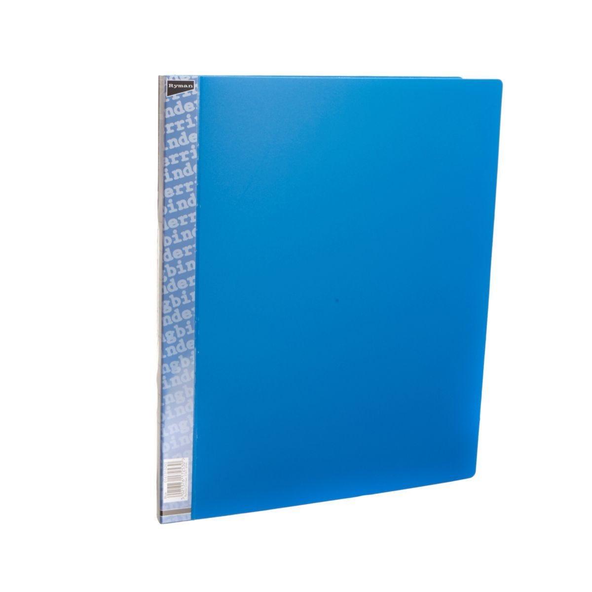 Ryman Ring Binder A4 16mm Blue