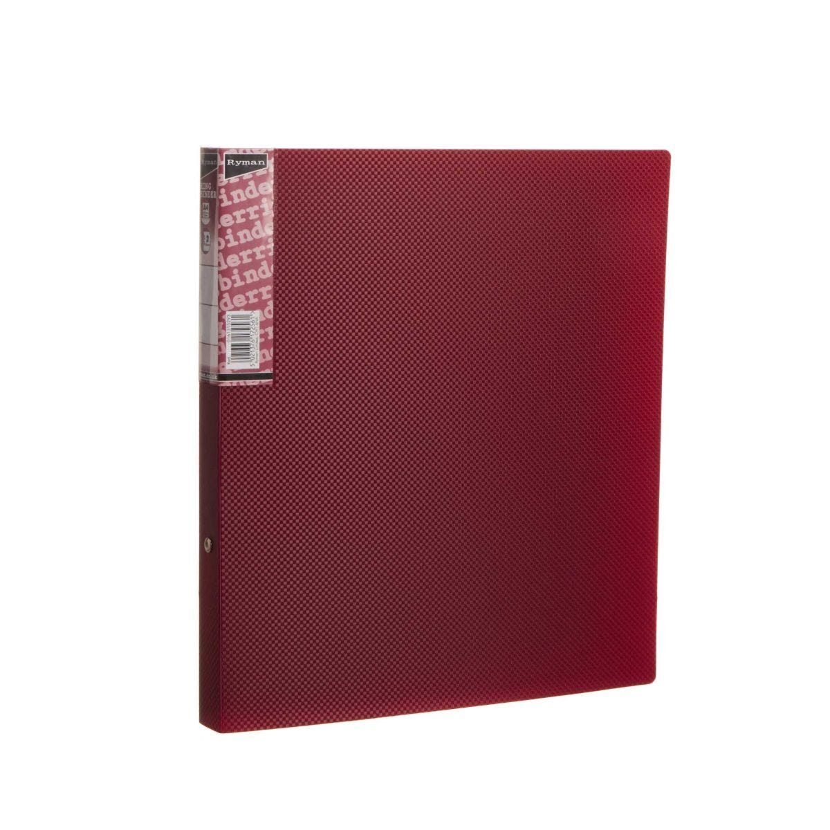 Ryman Ring Binder A4 16mm Burgundy