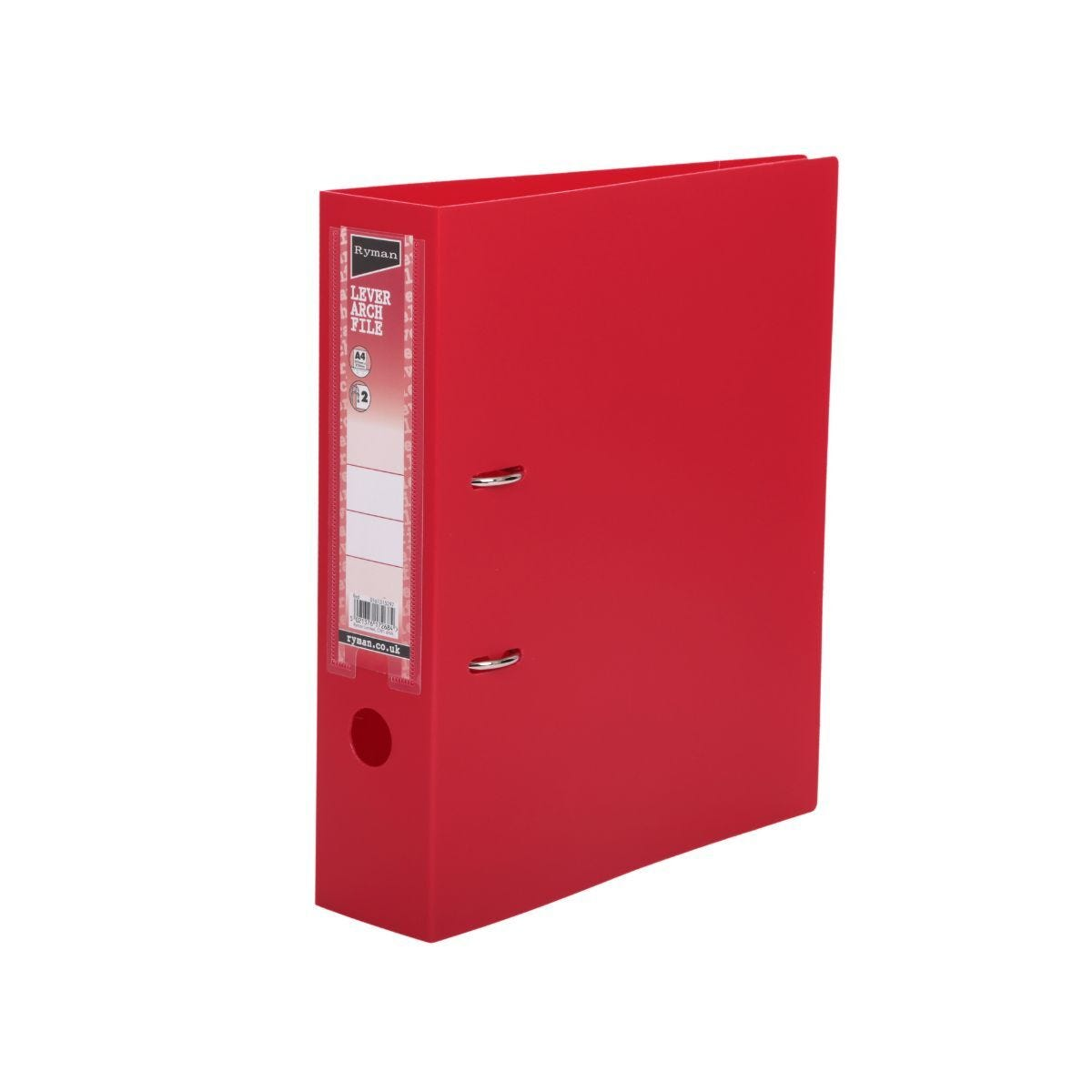 Ryman Lever Arch File A4 Red