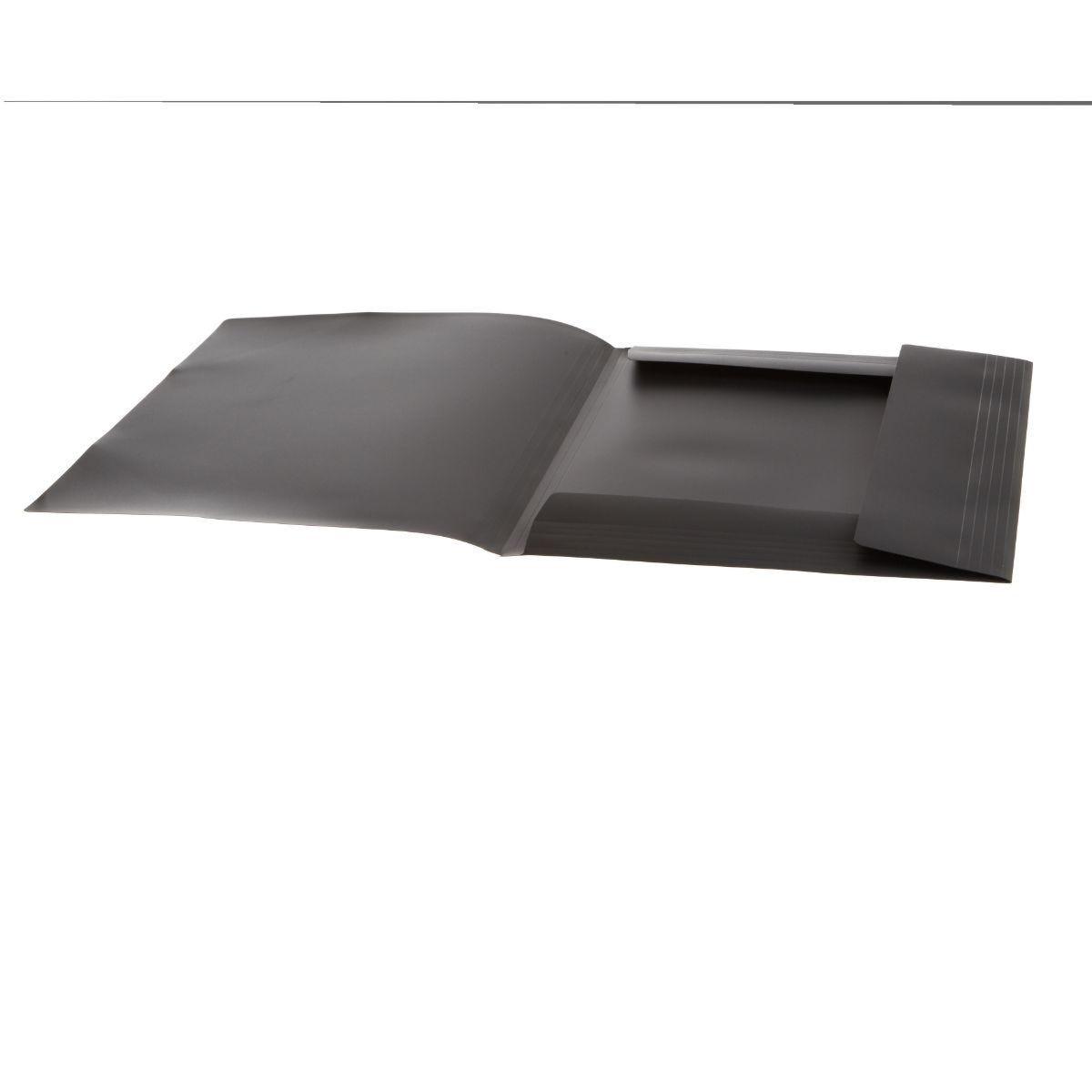 Ryman Elasti Folder A3 Black