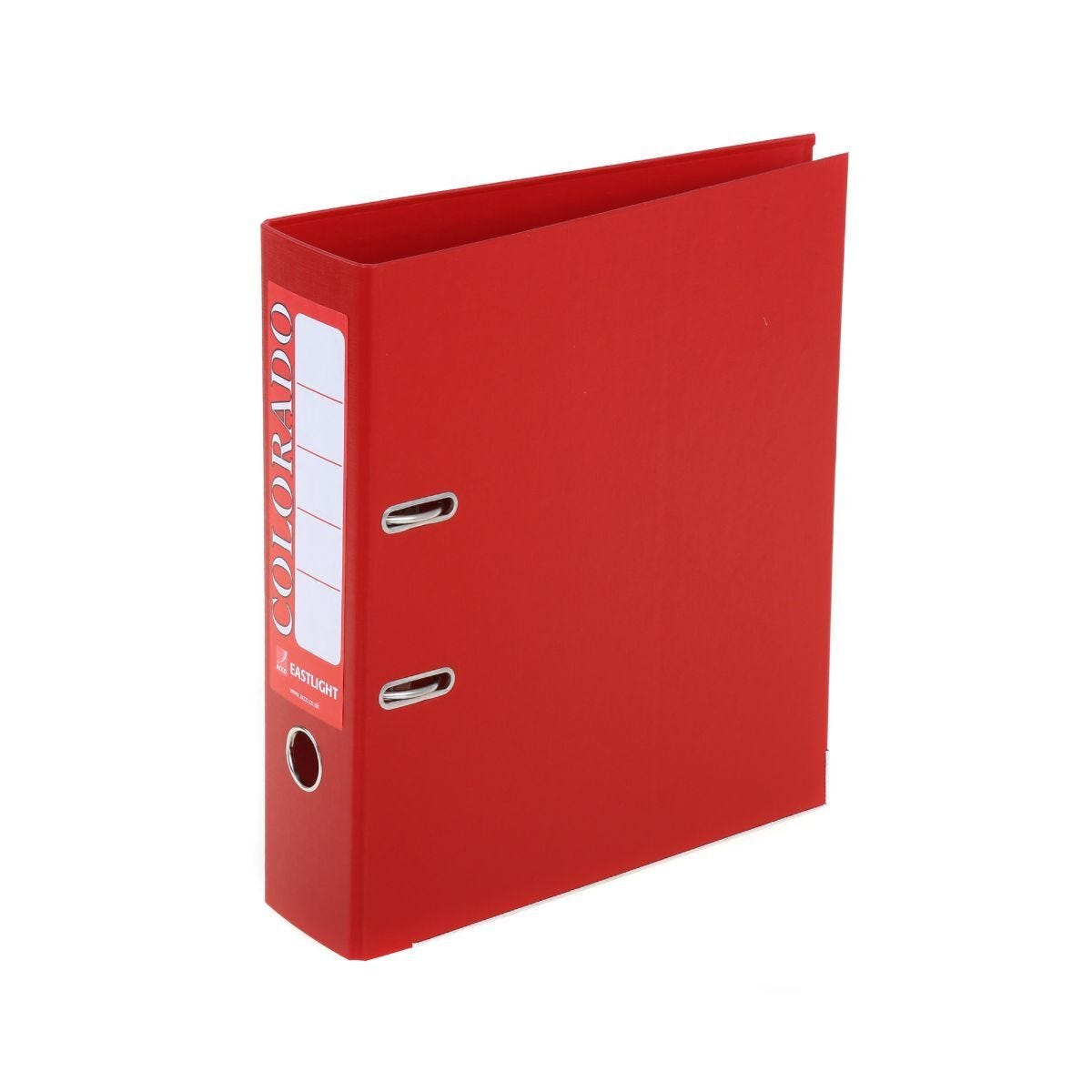 Colorado Lever Arch Spine File A4 Red