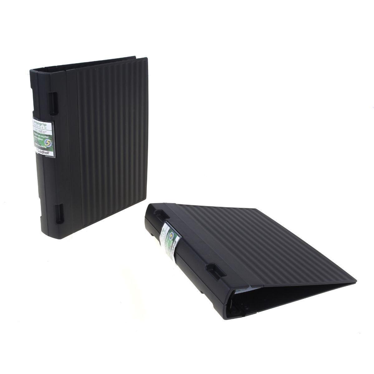 Guildhall Ecolite Ergogrip Binder 55mm Spine Black