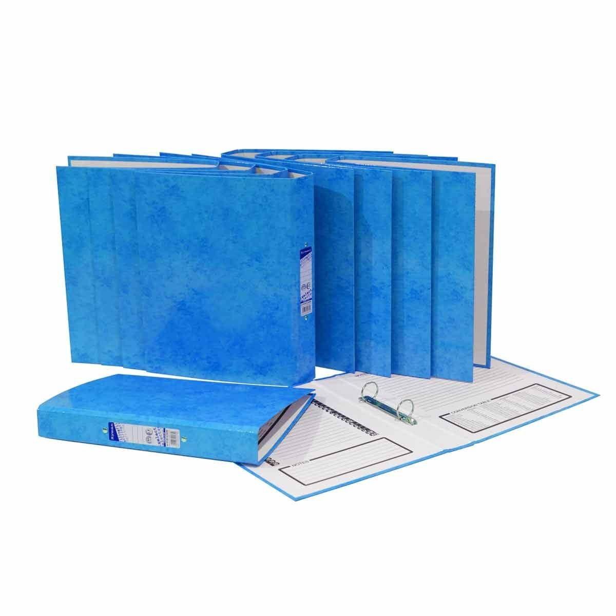Ryman Select A4 Ringbinder Pack of 10 Blue