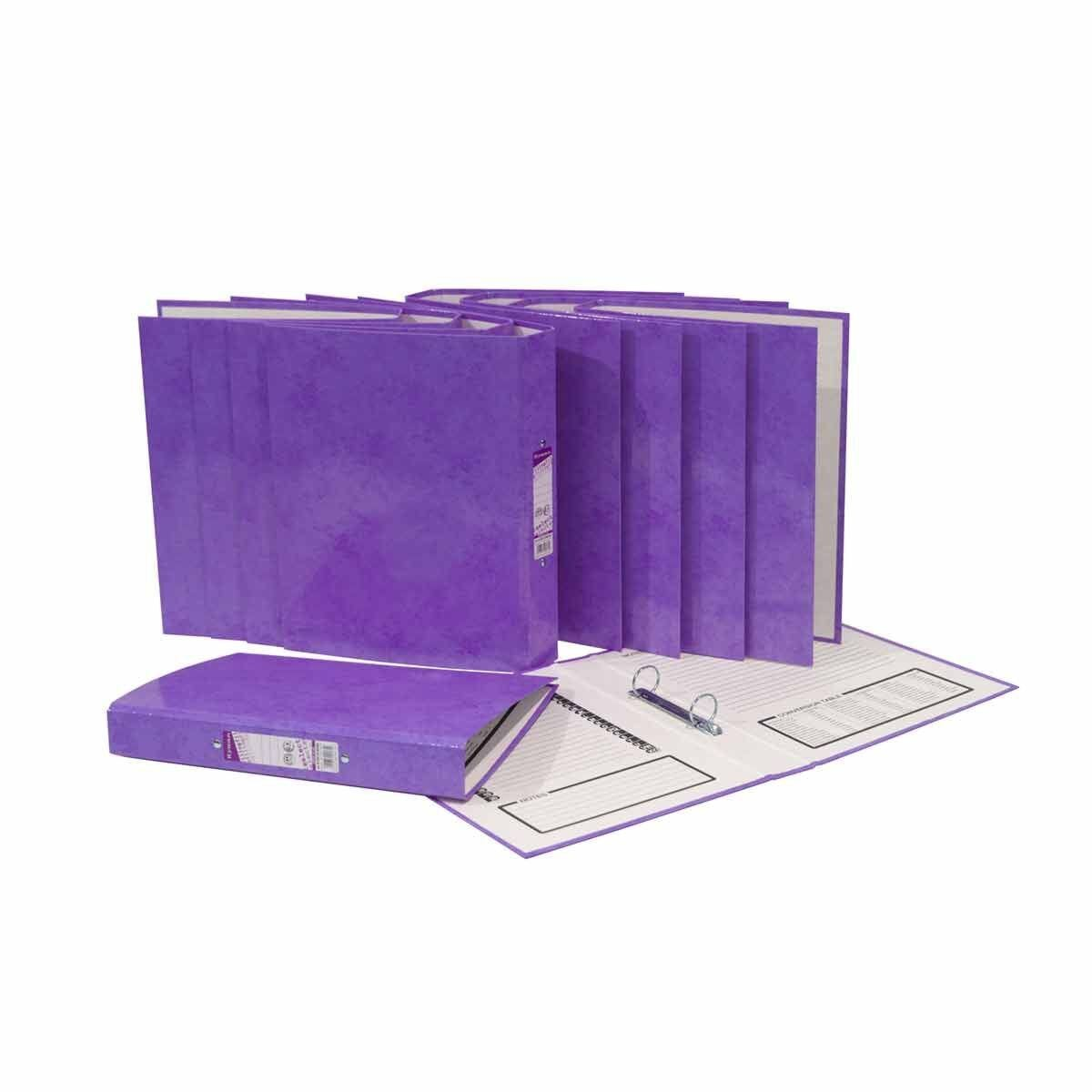 Ryman Select A4 Ringbinder Pack of 10 Purple