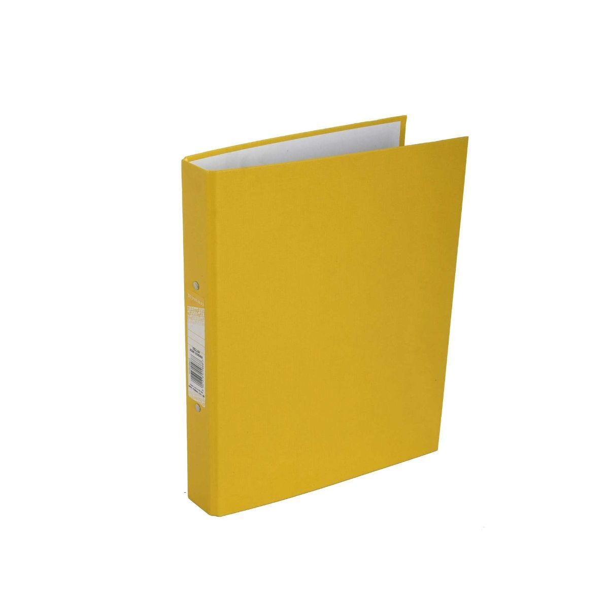 Ryman Colour Ringbinder A4 2-Ring Pack of 10 Yellow