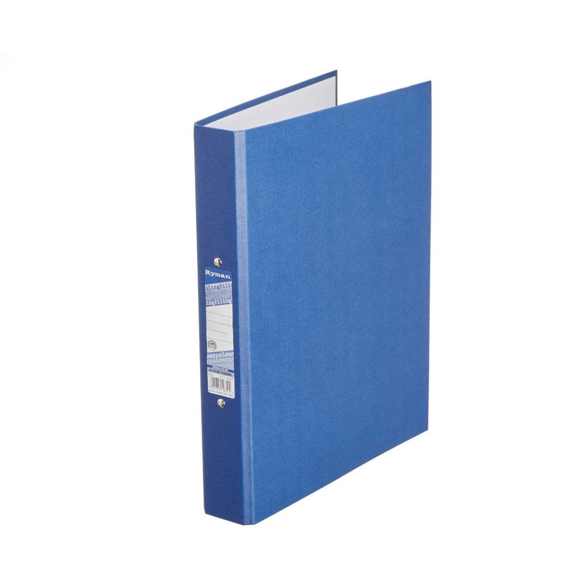 Ryman Colour Ringbinder A4 2-Ring Pack of 10 Navy
