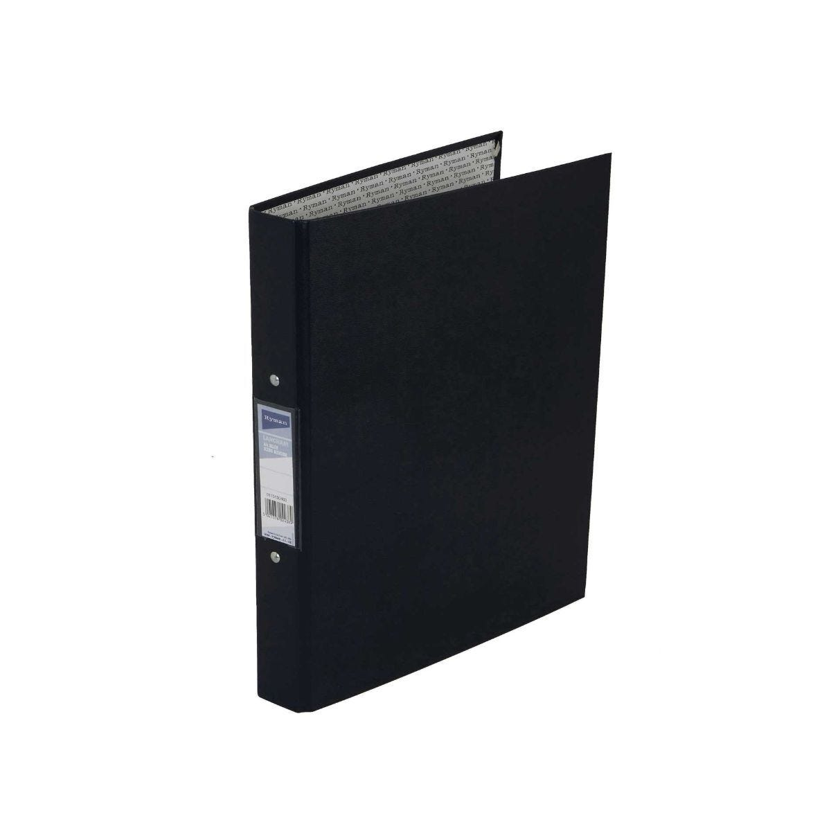 Ryman Langham Ringbinder A4 2-Ring Pack of 10 Blue