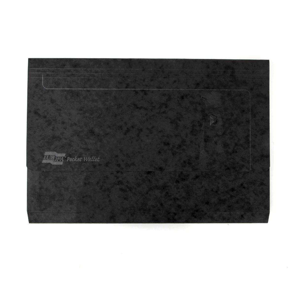 Europa Pocket Wallets Foolscap Pack of 25