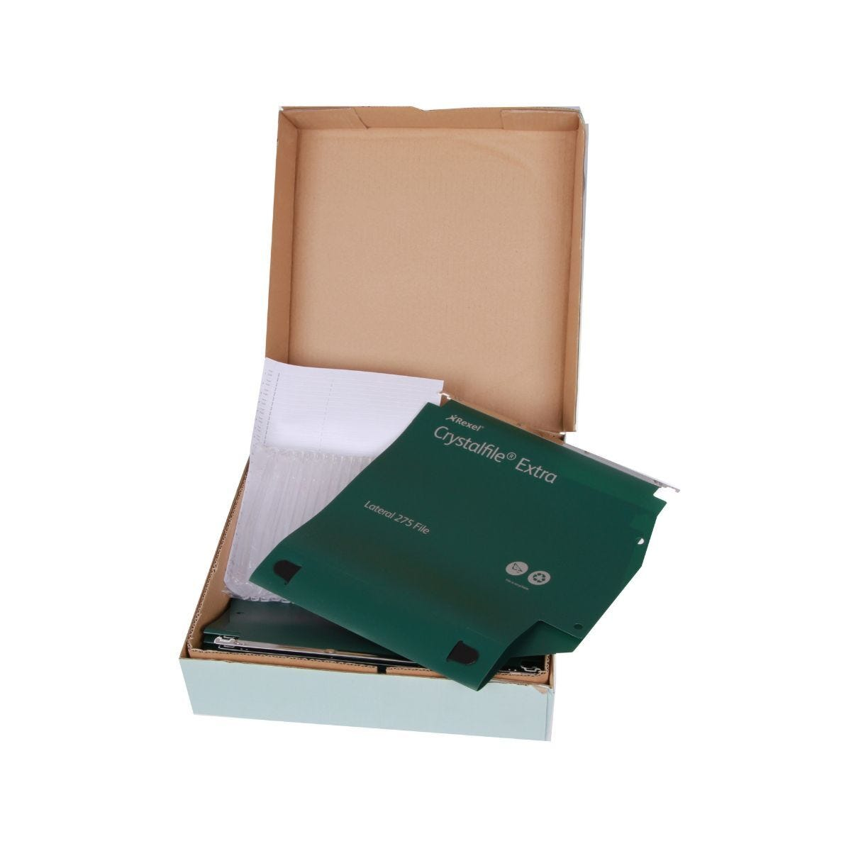 Crystalfile 275 Lateral File 50mm/ 500 Sheets Pack of 25