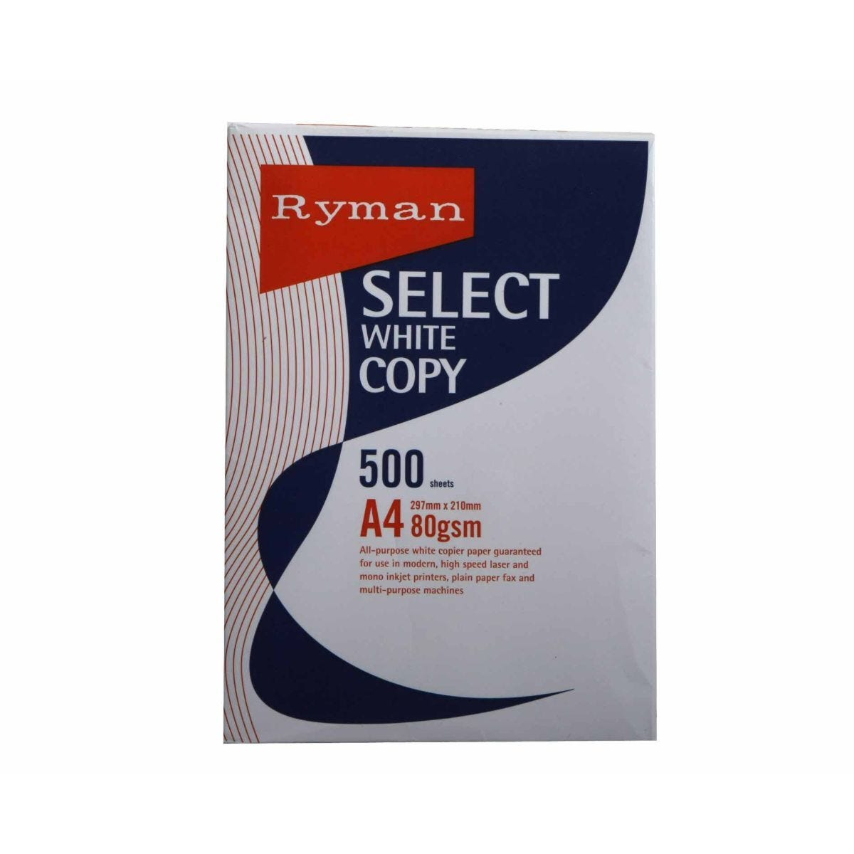 Ryman Select Copy Ream of Paper A4 80gsm 500 Sheets