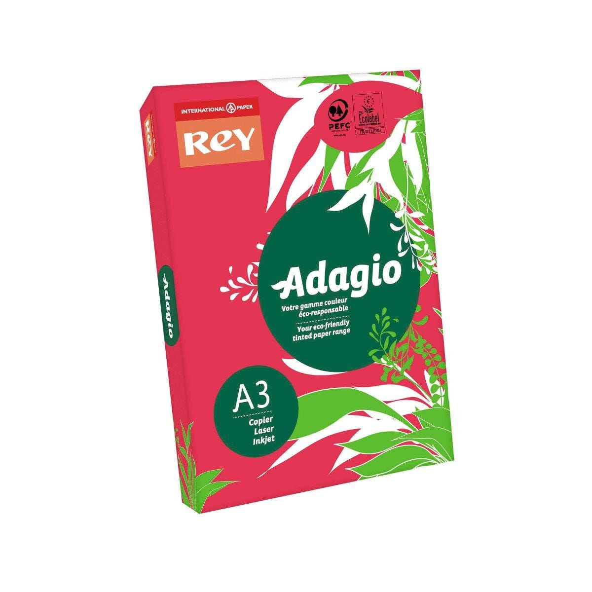 Adagio Copier Paper A3 80gsm Ream Red