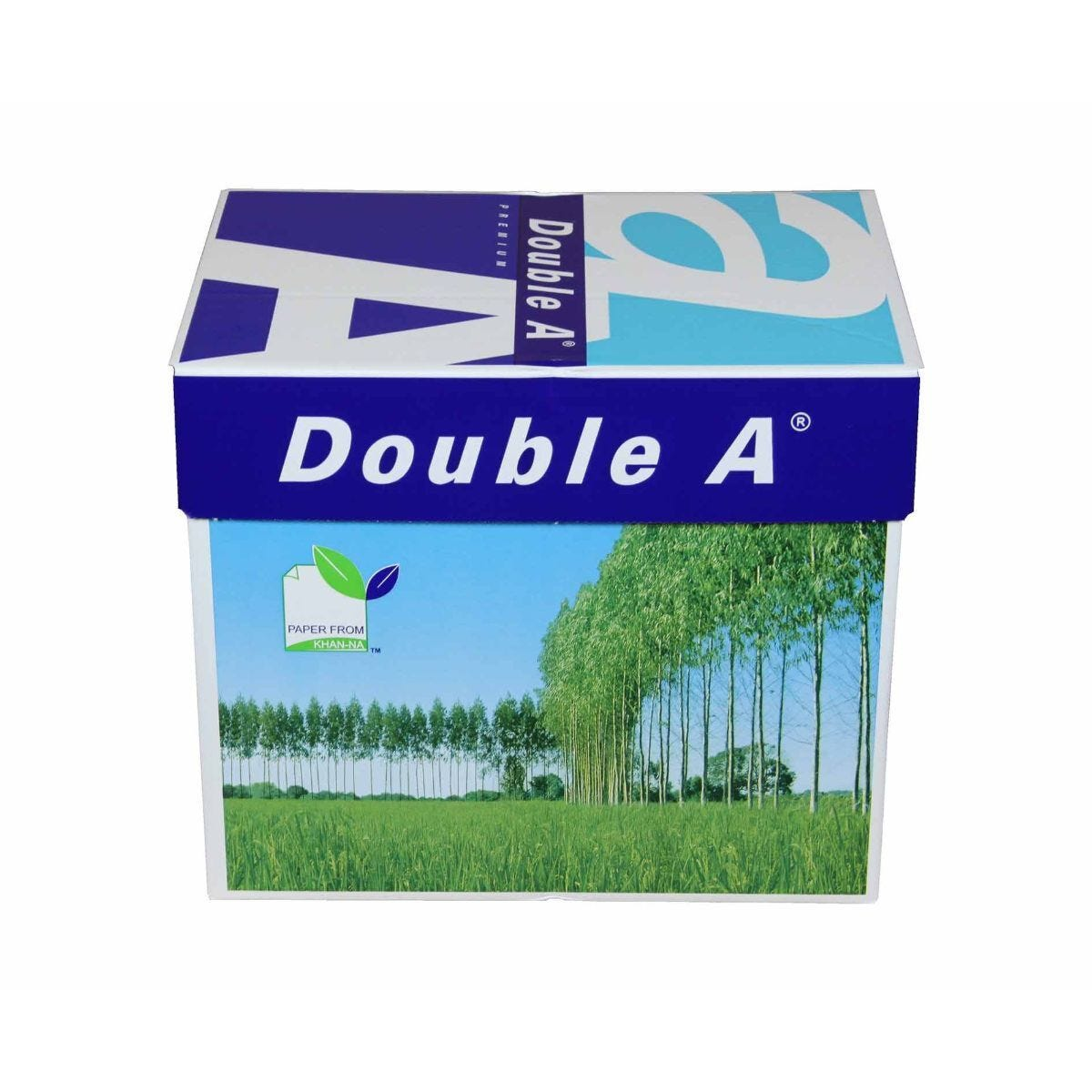 Double A Premium Paper 80gsm A4 Pack of 5