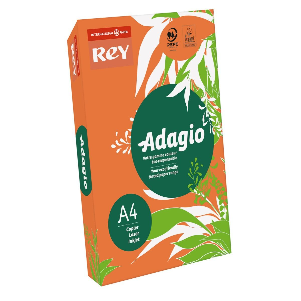 Rey Adagio Ream of Paper Bright Coloured A4 500 Sheets