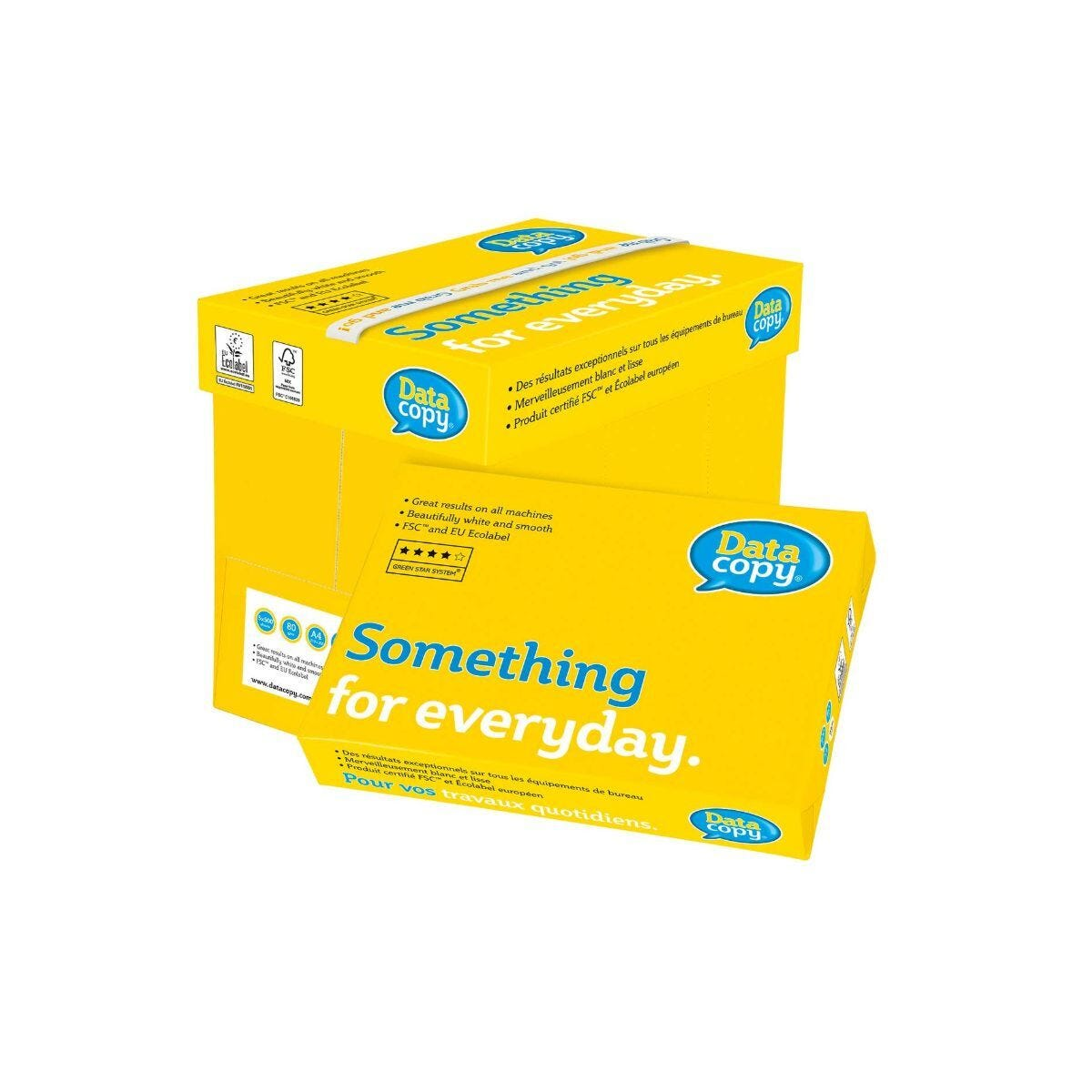 Data Copy Everyday Paper FSC A4 80gsm Box of 5 Reams