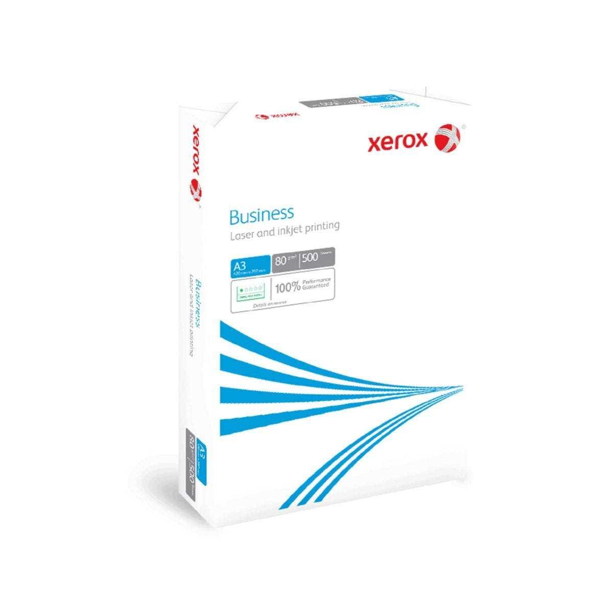 Xerox Business Copy Ream of Paper A3 80gsm 500 Sheets