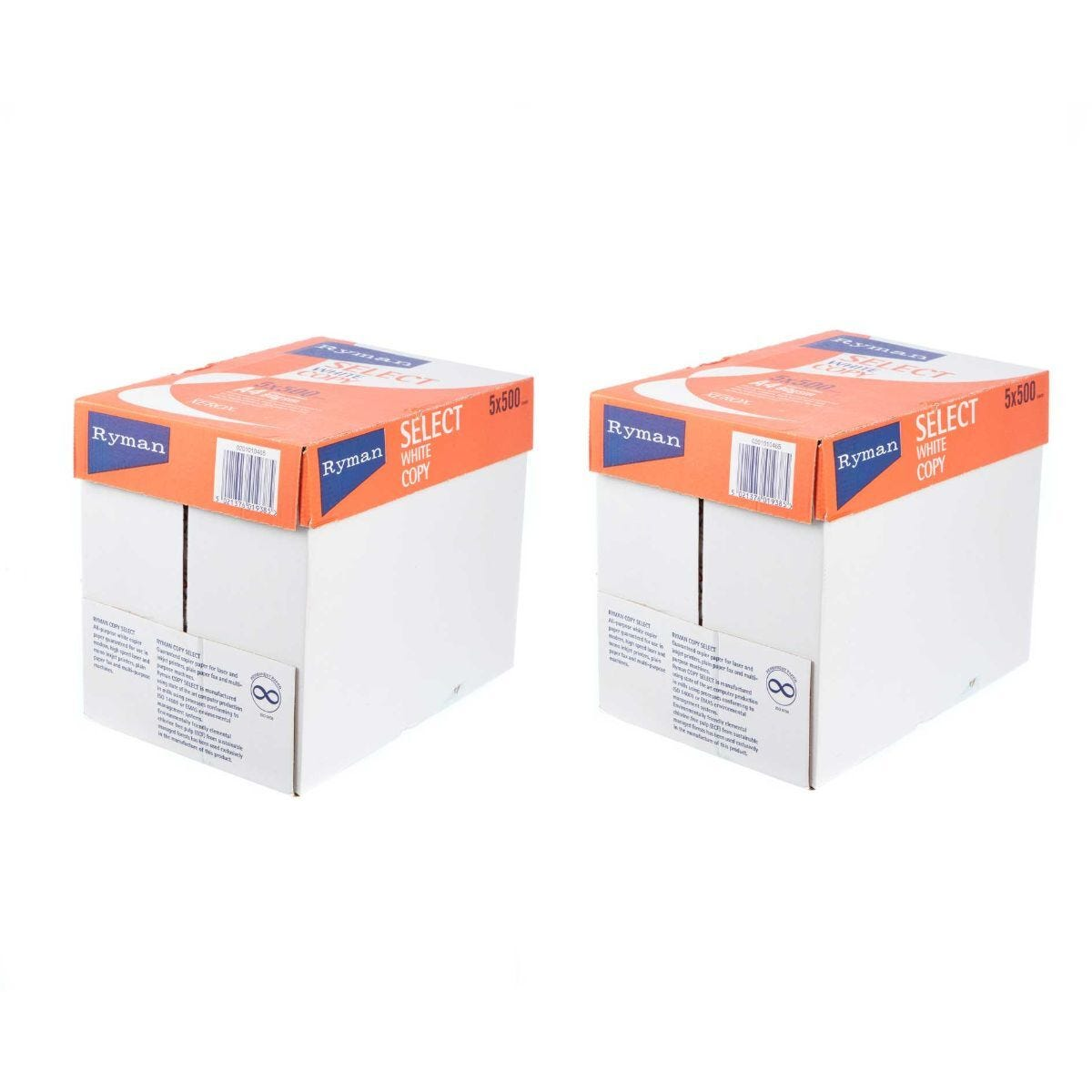 Ryman Select Copy Paper A4 80gsm 500 Sheets Pack of 10