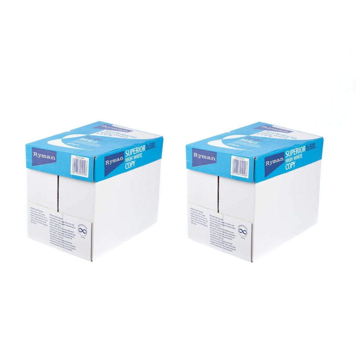 Ryman Superior Copy Paper A4 80gsm 500 Sheets Pack of 10