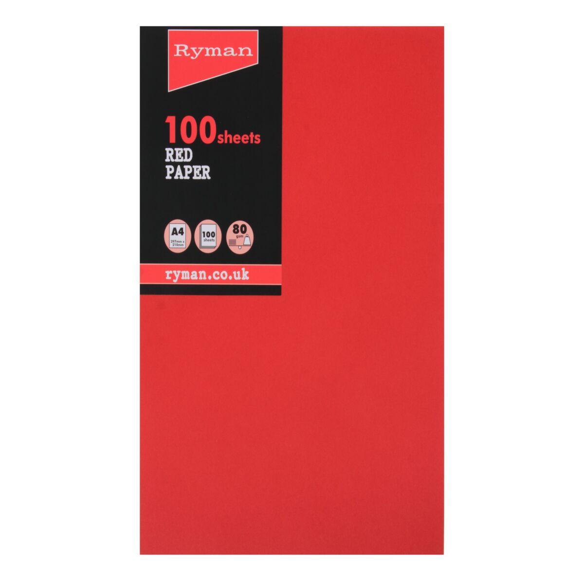 Ryman Adagio Copier Paper A4 80gsm Pack of 100