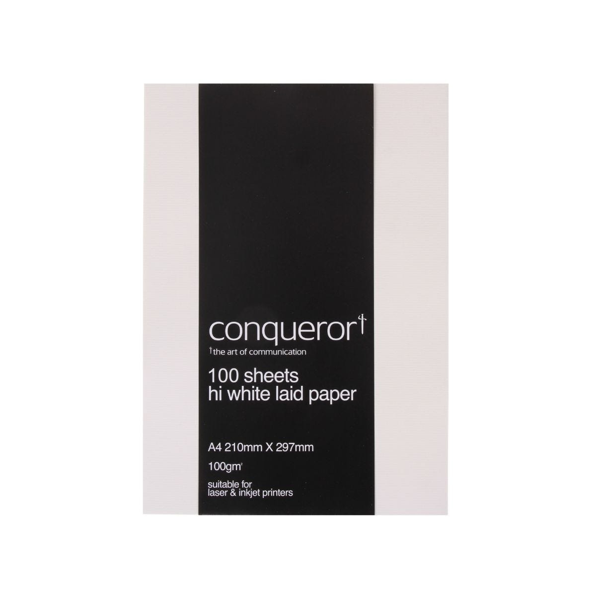 Conqueror Paper A4 100gsm Pack 100 White