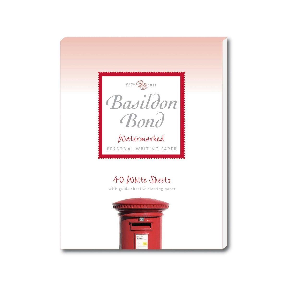 Basildon Bond Writing Pad 229x178mm 80 Pages 40 Sheets