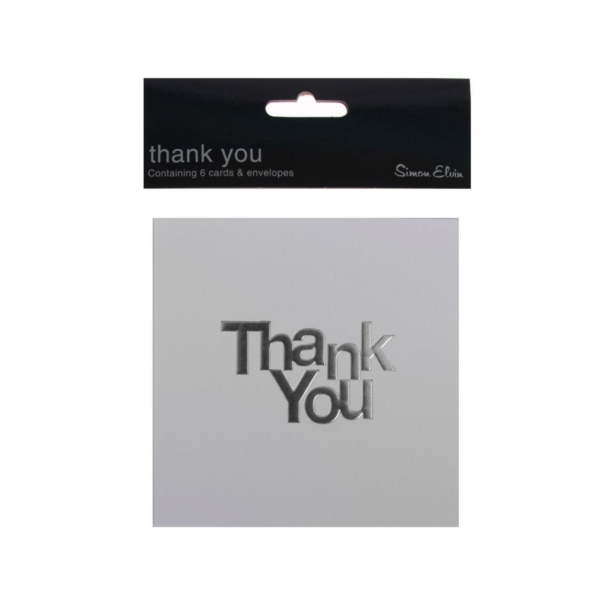 Thank You Cards Pack of 6