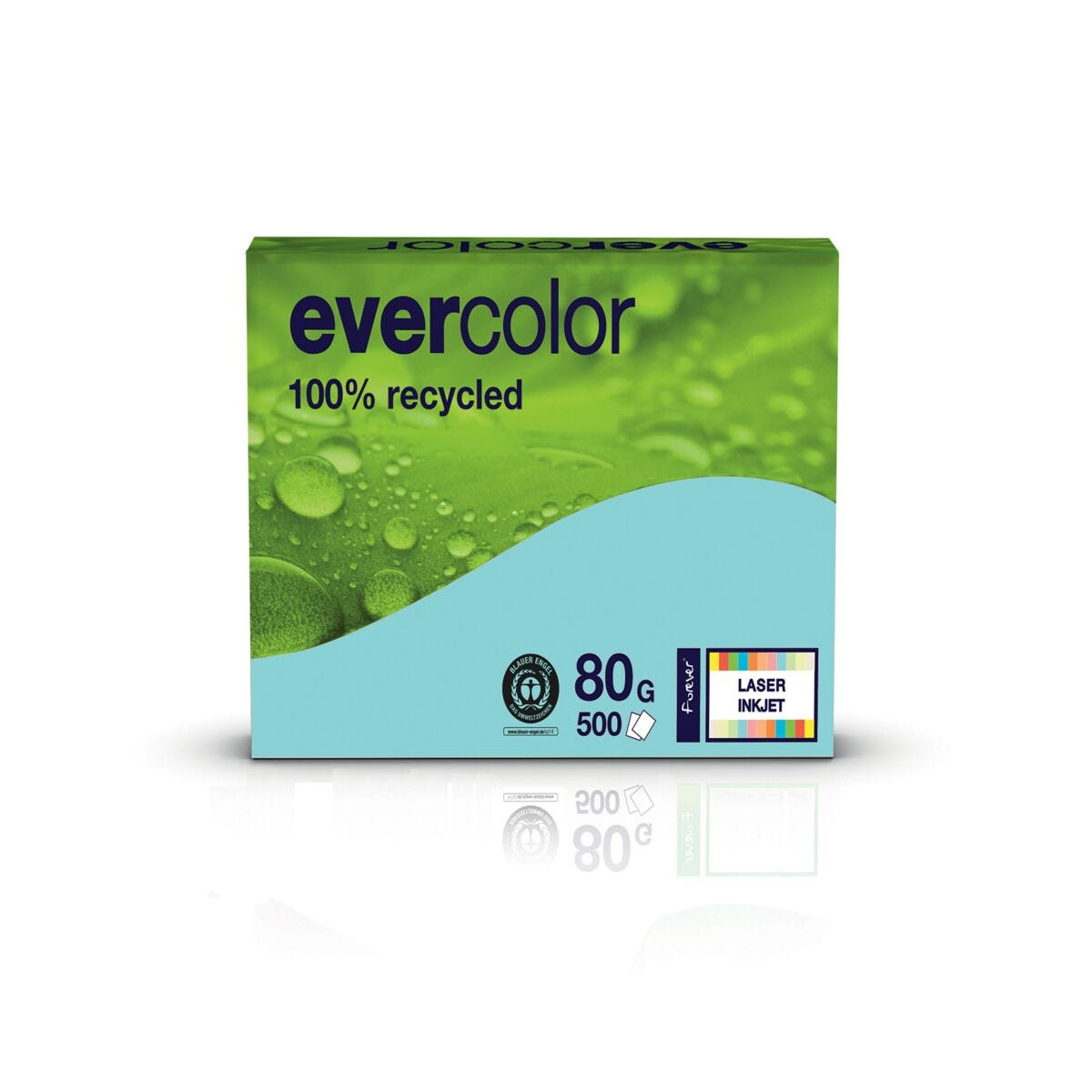 Evercolor A4 80gsm Box of 5 Reams Blue